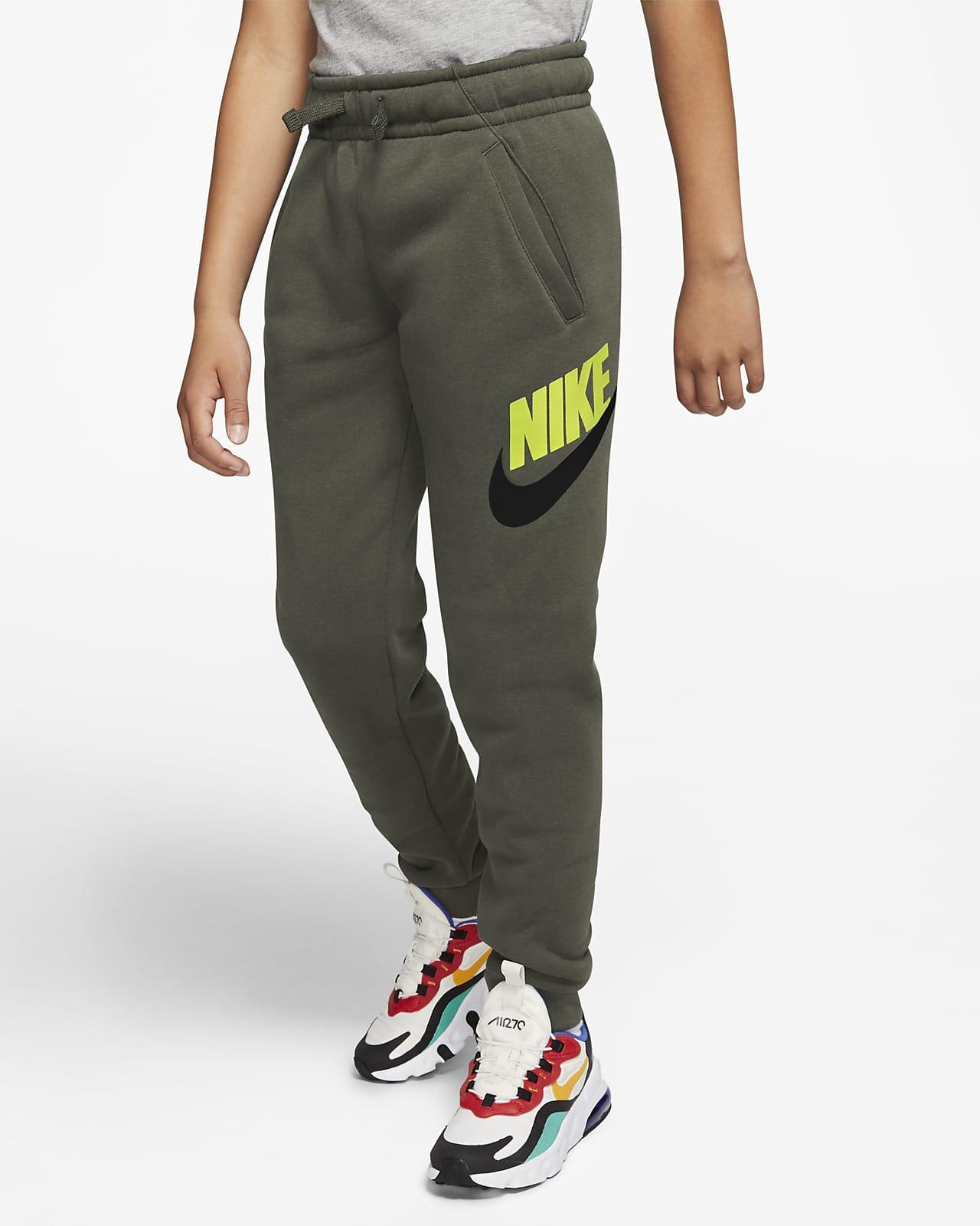 Spodnie dla dużych dzieci (chłopców) Nike Sportswear Club Fleece