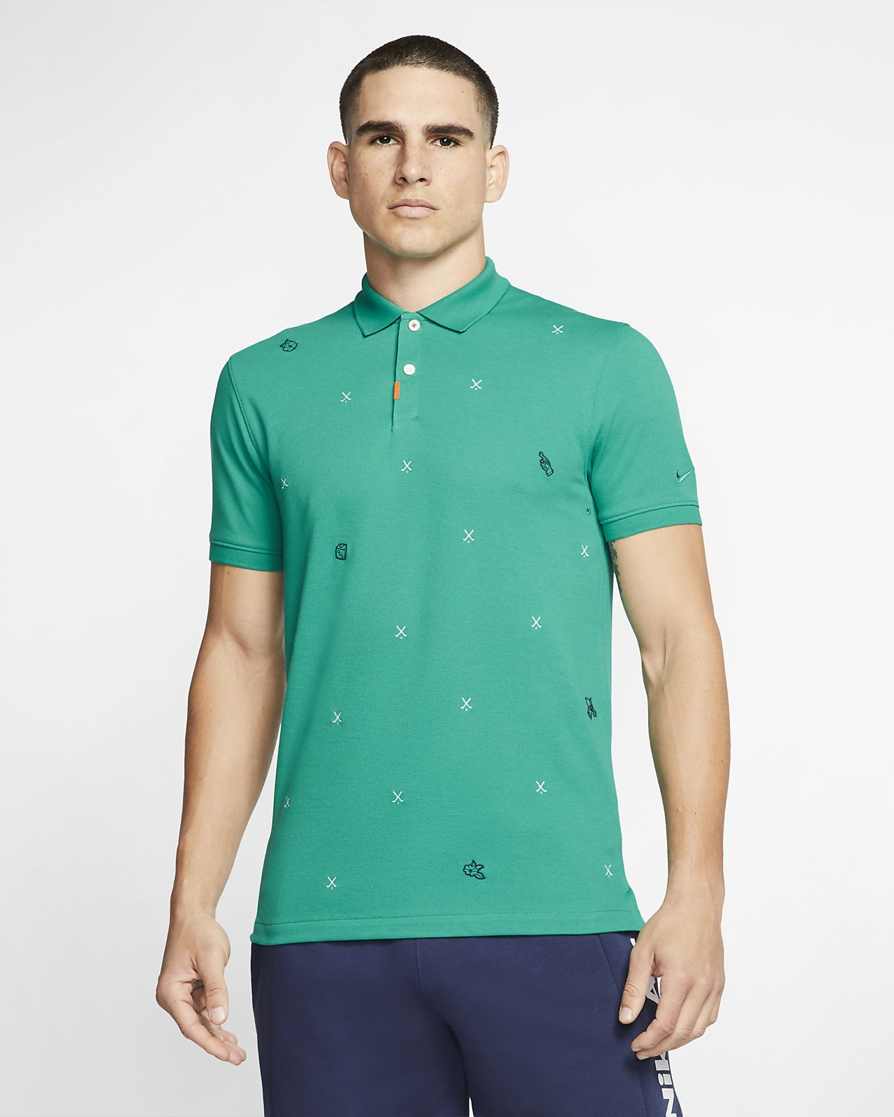 The Nike Polo unisex poloskjorte i smal passform