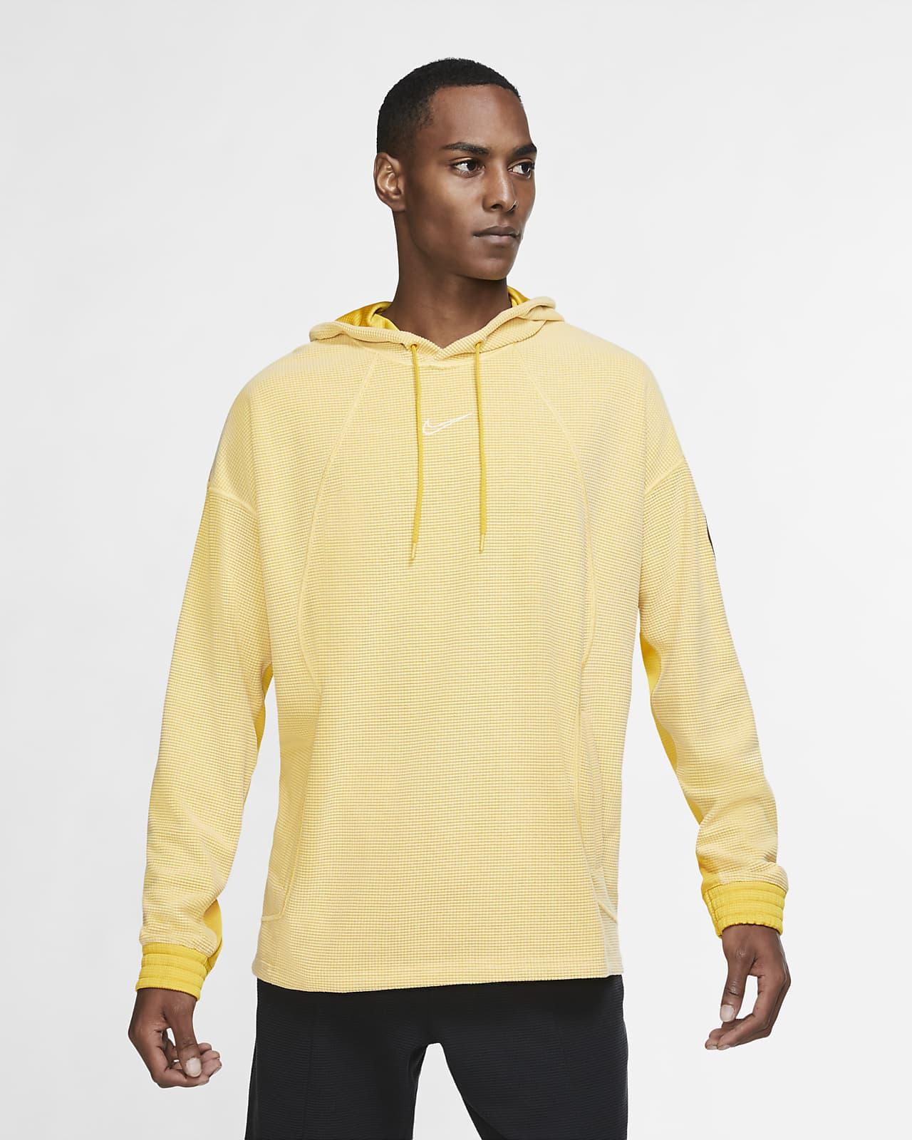 Träningshuvtröja i fleece Nike för män