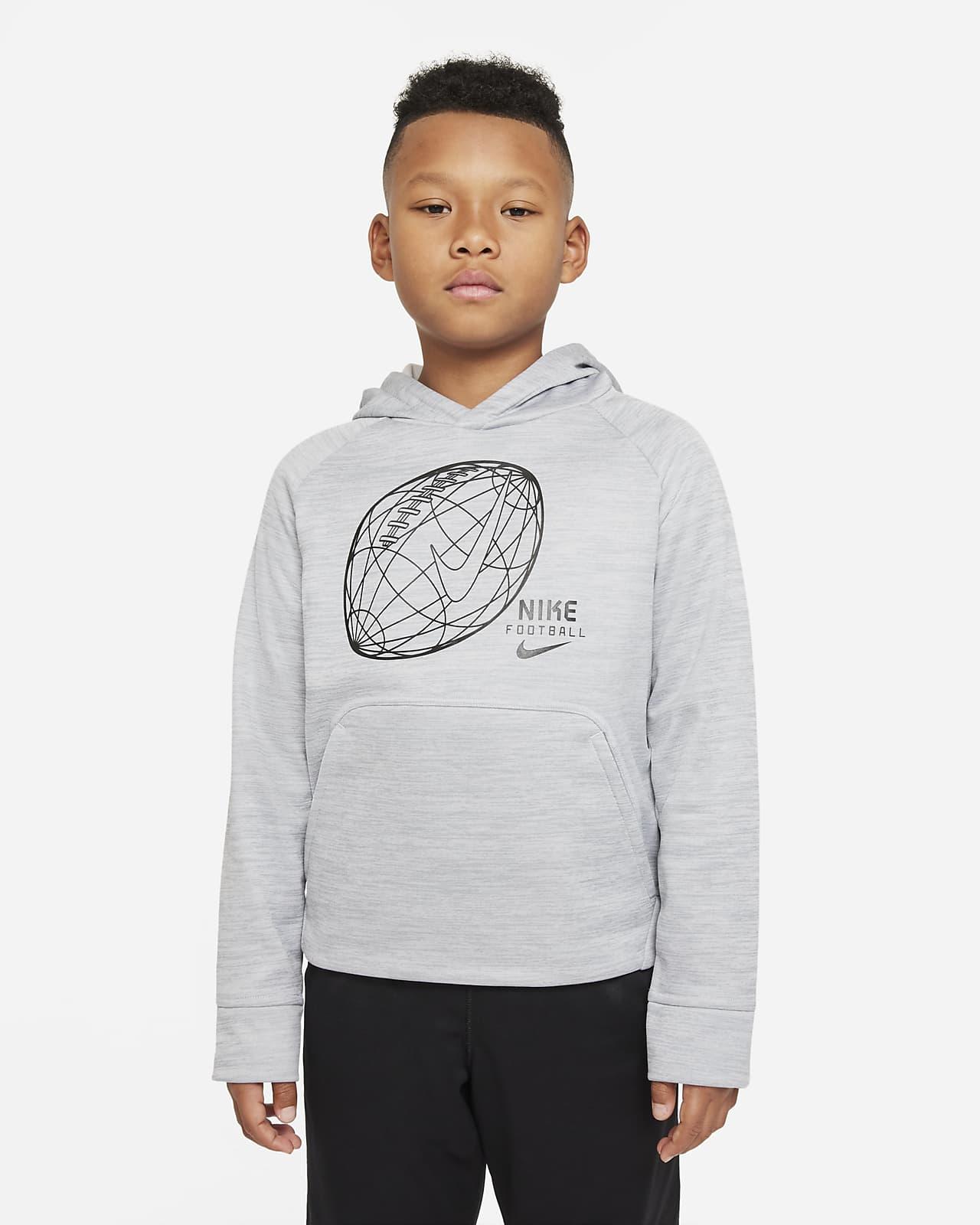 Nike Therma Big Kids' (Boys') Football Hoodie