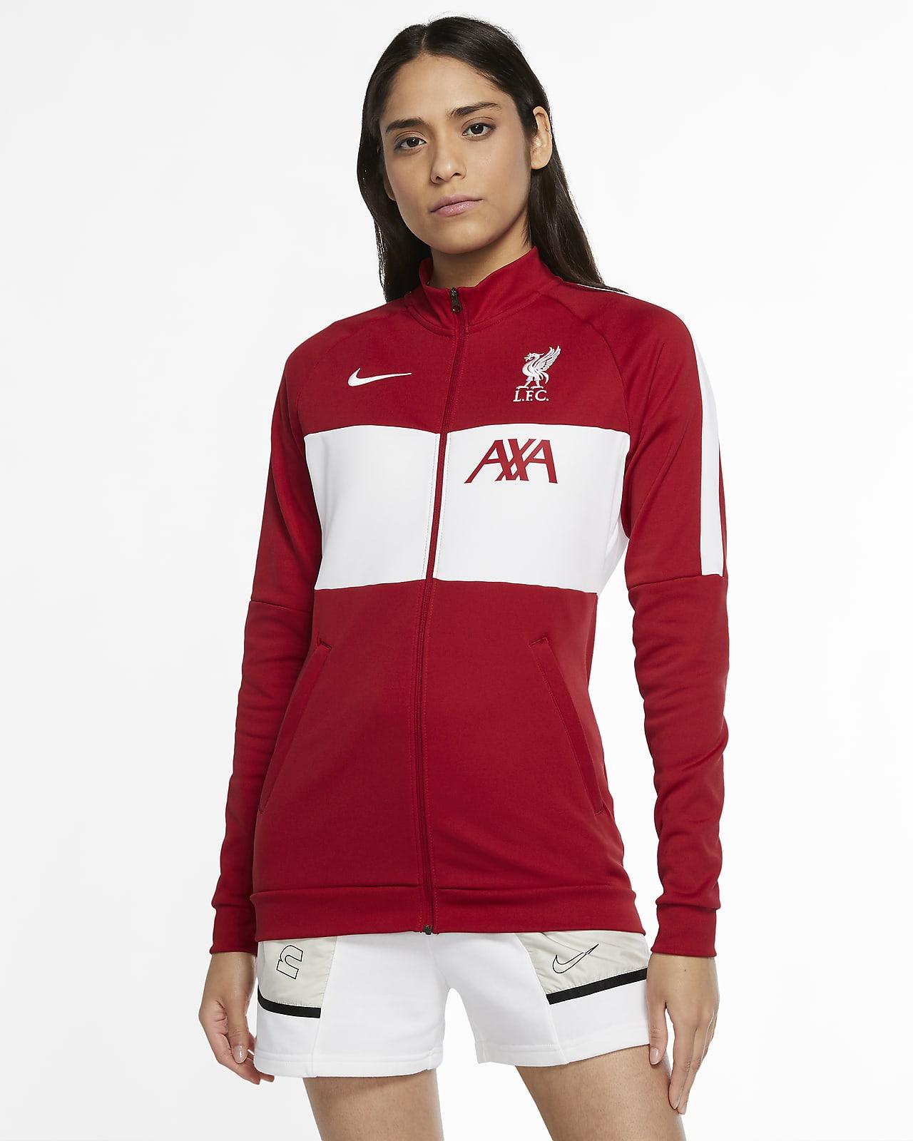 Liverpool FC fotballtreningsjakke til dame