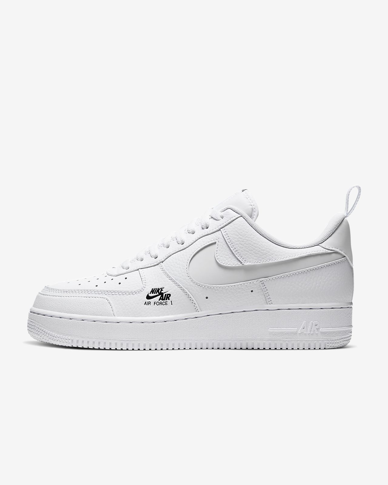 NIKE Air Force 1 '07 LV8 Utility WhiteBlack | Nike shoes