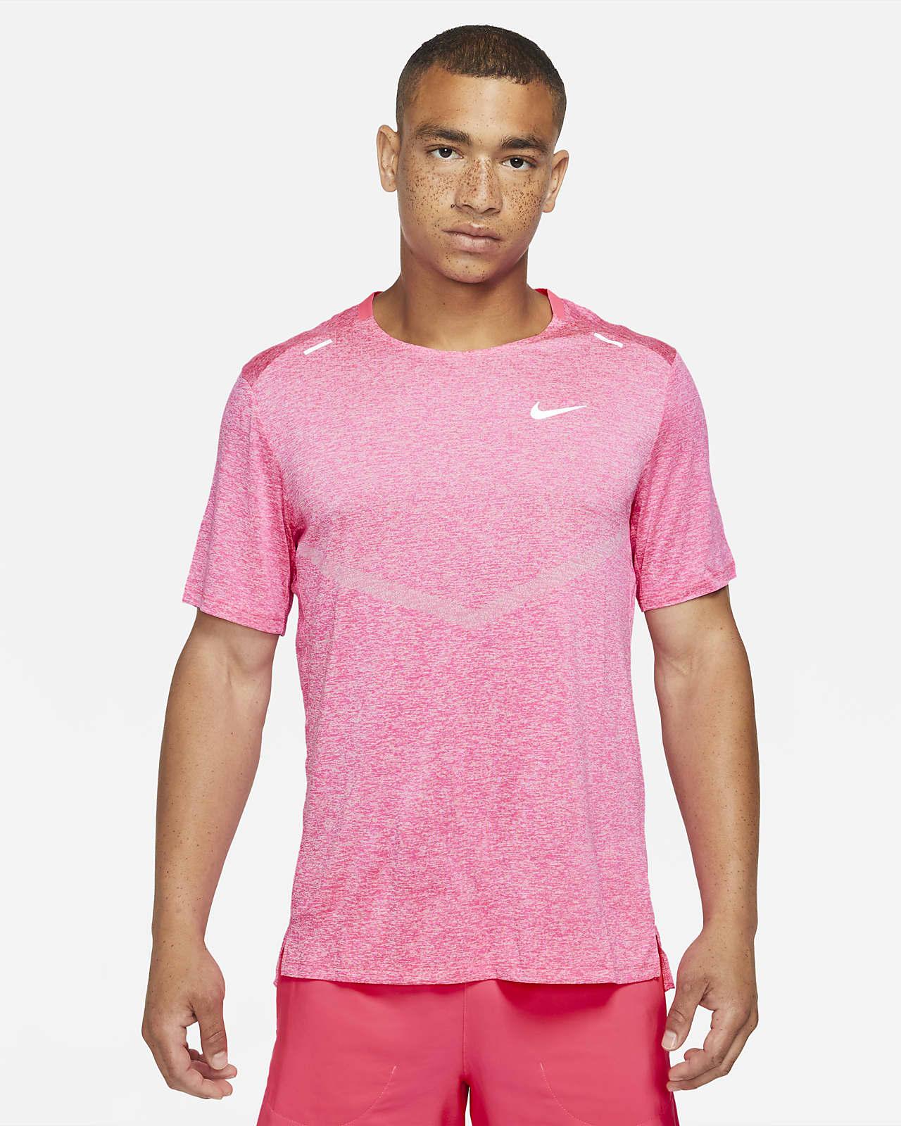Camiseta de running de manga corta para hombre Nike Dri-FIT Rise 365