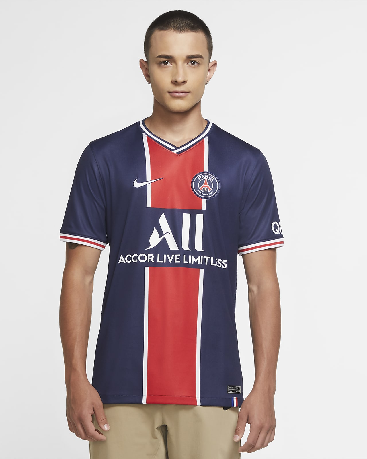 Paris Saint-Germain 2020/21 Stadium Home Men's Soccer Jersey