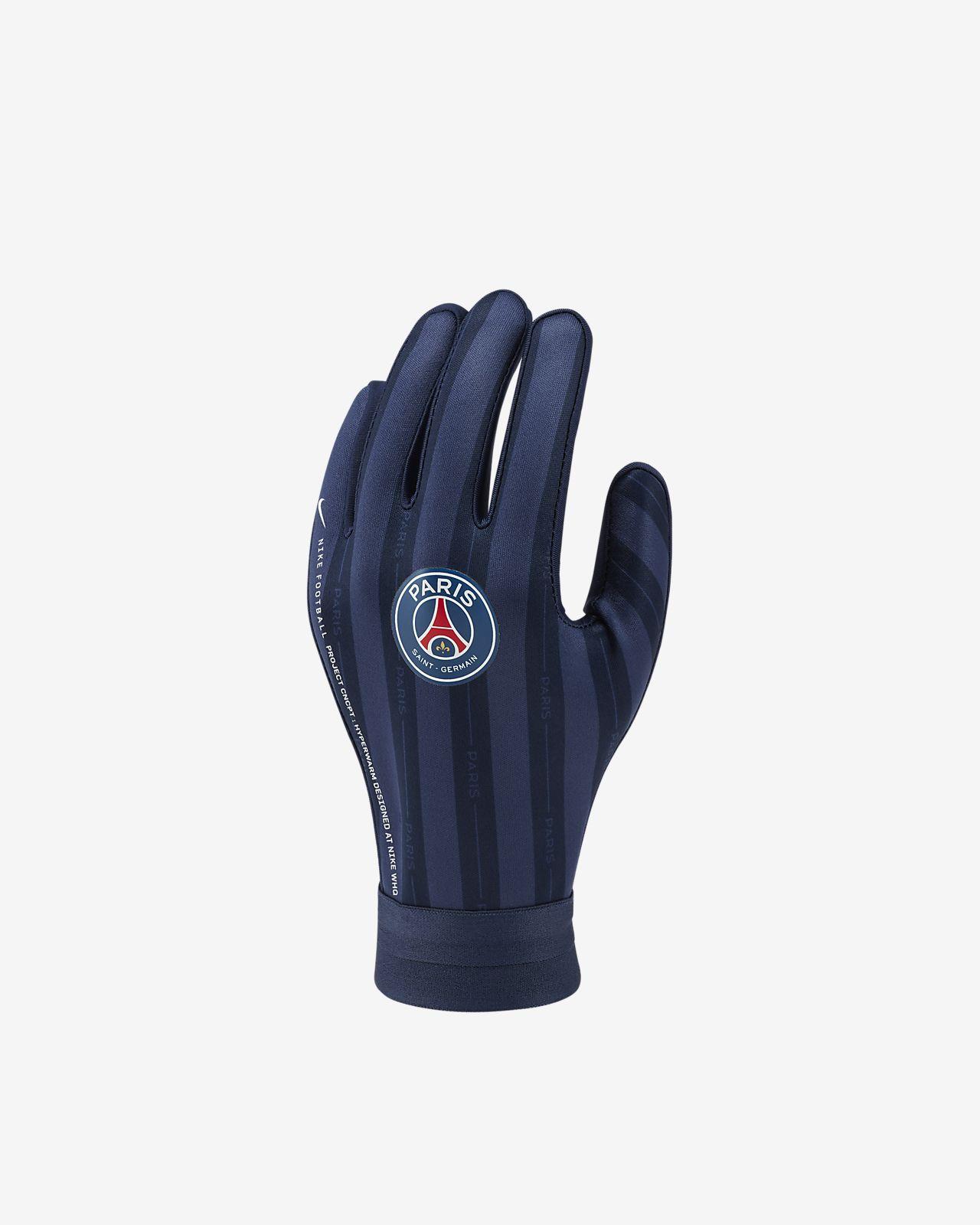 Fotbalové rukavice Paris Saint-Germain HyperWarm Academy pro větší děti
