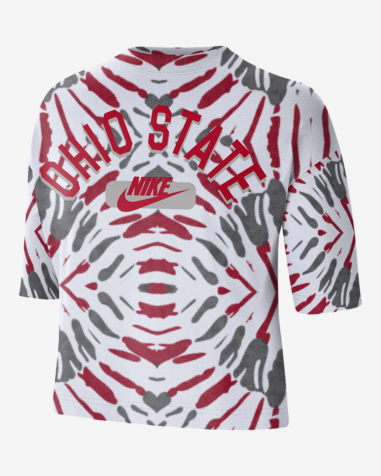 Nike College (Ohio State) Women's Boxy Printed T-Shirt