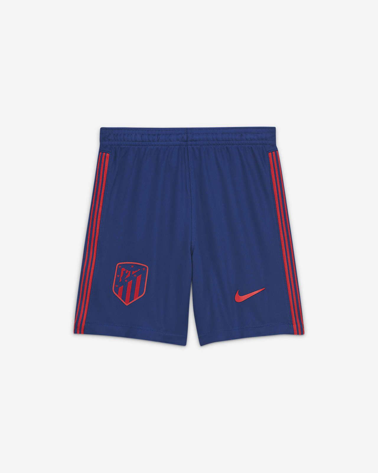 Shorts de fútbol para niño talla grande Atlético de Madrid 2020/21 Stadium de local/visitante