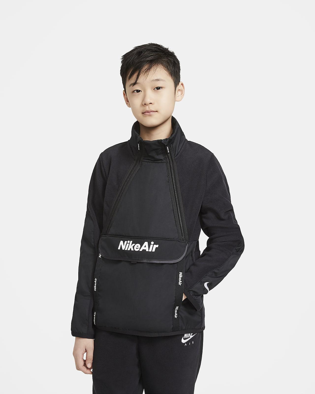Vinterklar Nike Air-overdel til store børn (drenge)