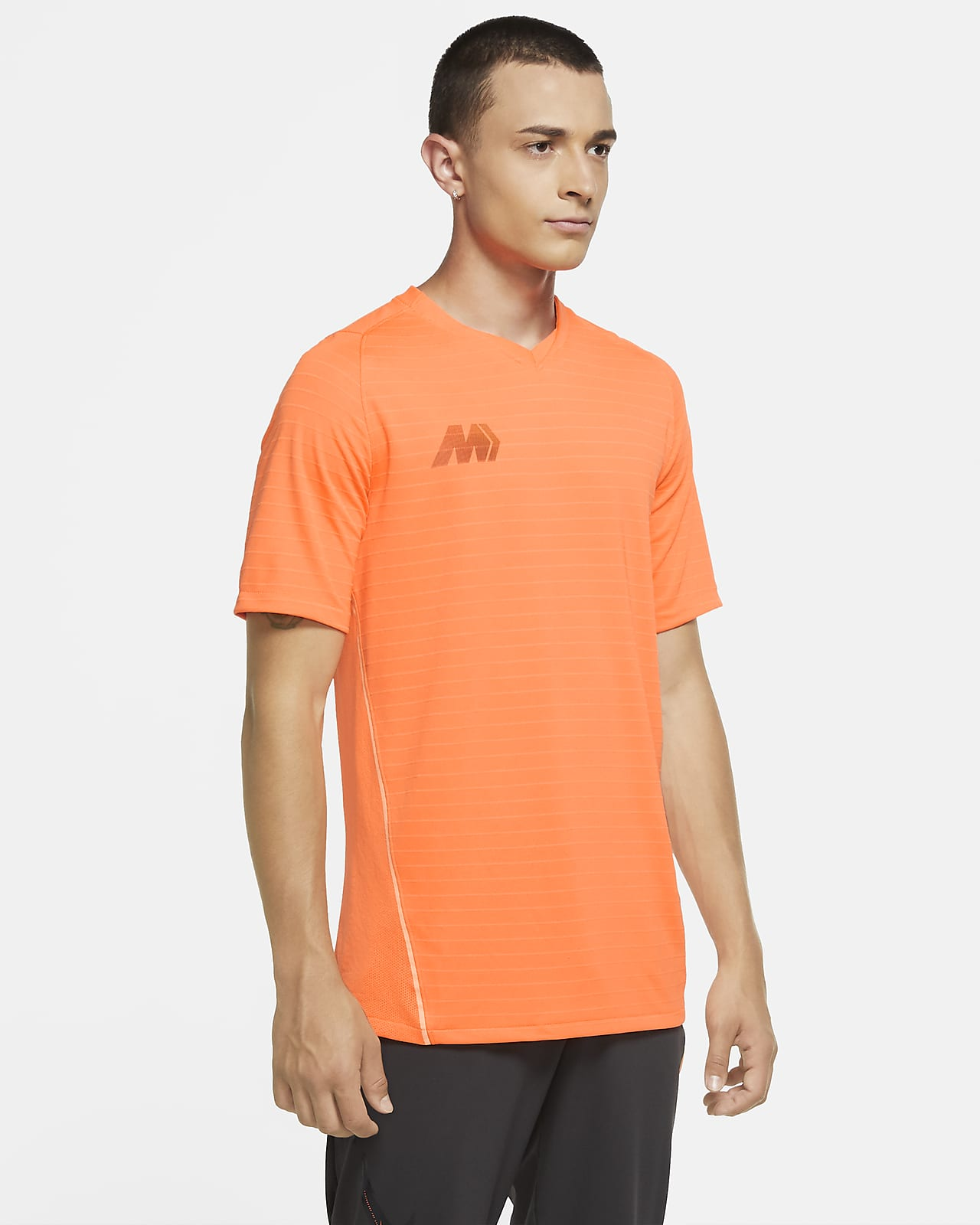 Nike Dri-FIT Mercurial Strike Voetbaltop met korte mouwen voor heren