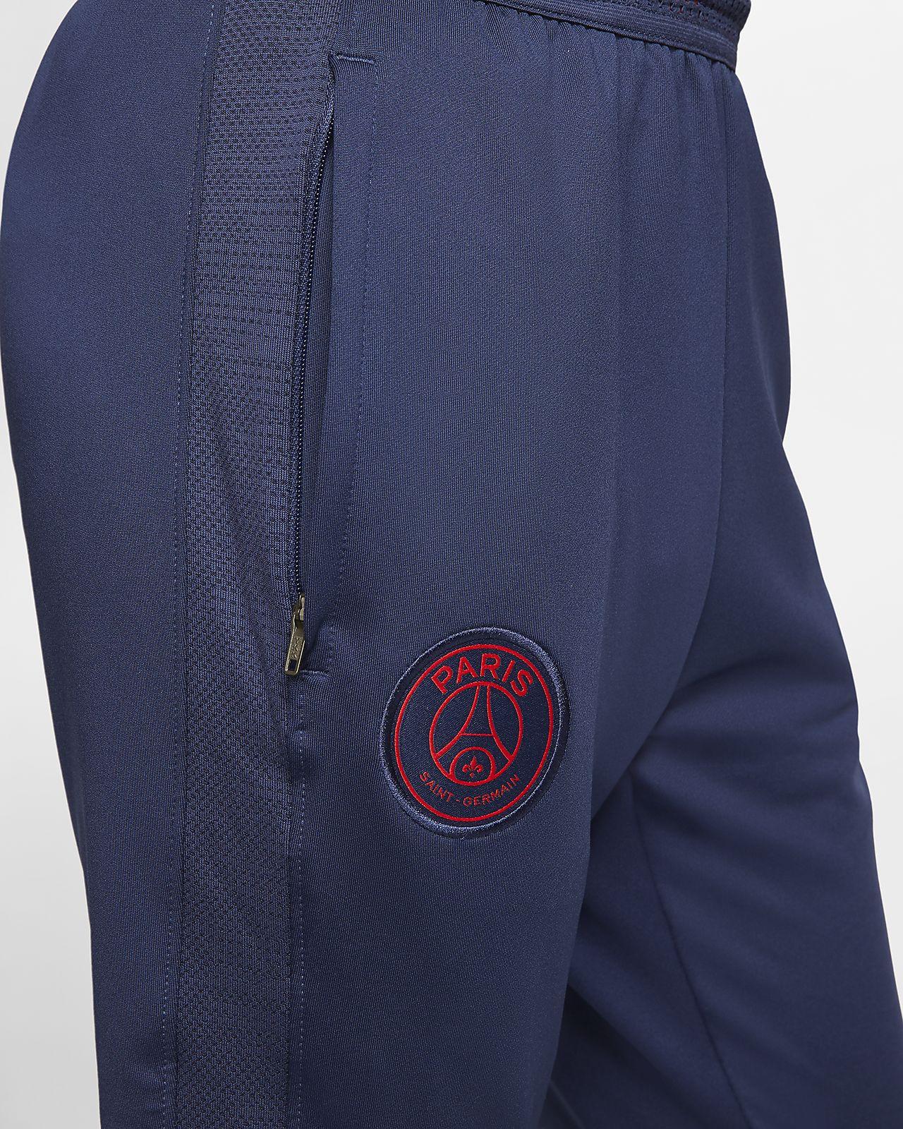 NIKE Youth Dry Paris Saint Germain Squad Pants Black