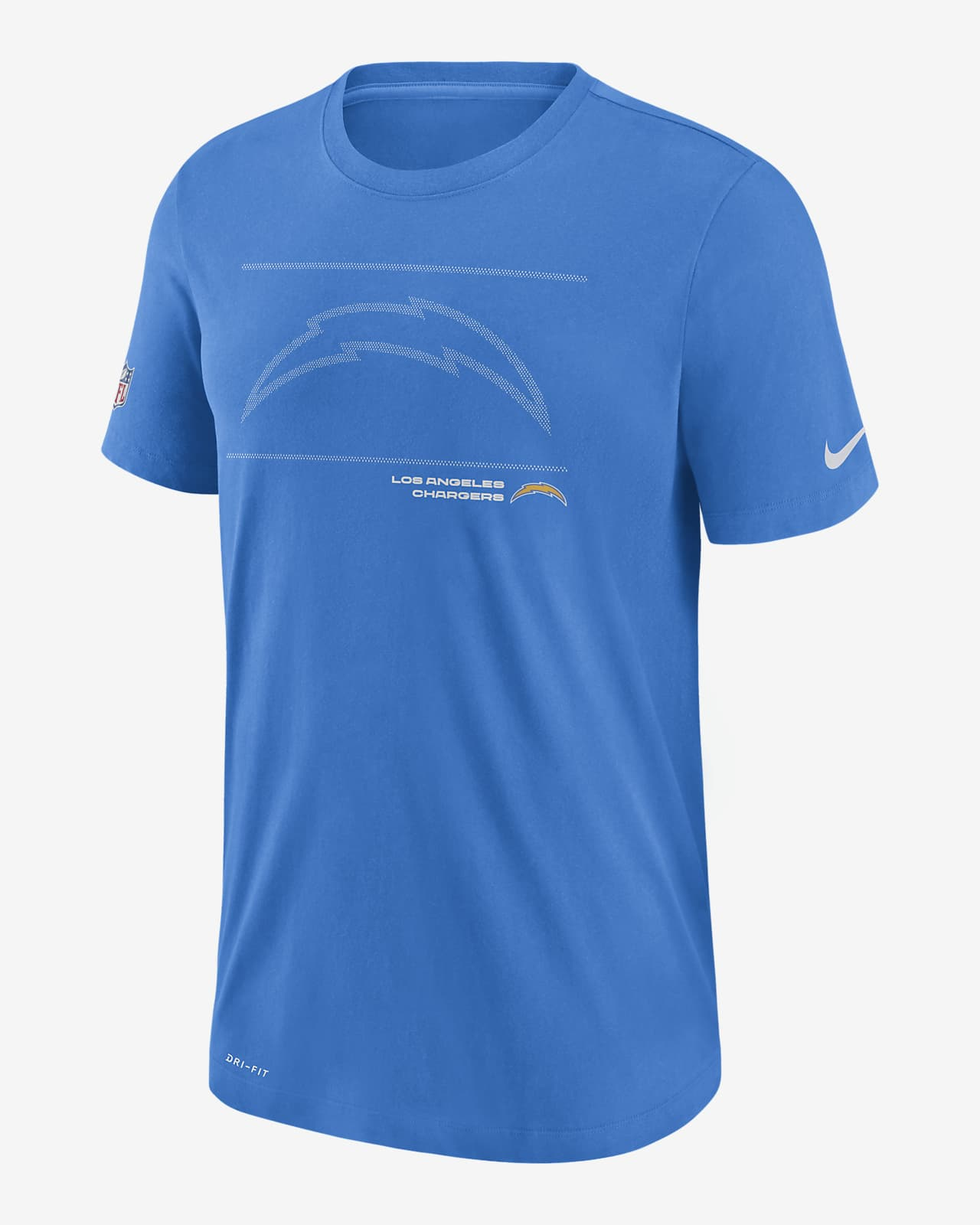 Nike Dri-FIT Sideline Team Issue (NFL Los Angeles Chargers) Men's T-Shirt