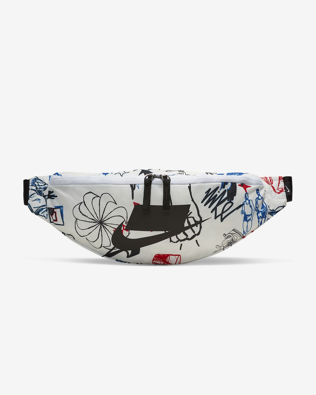 Nike Heritage 印花腰包