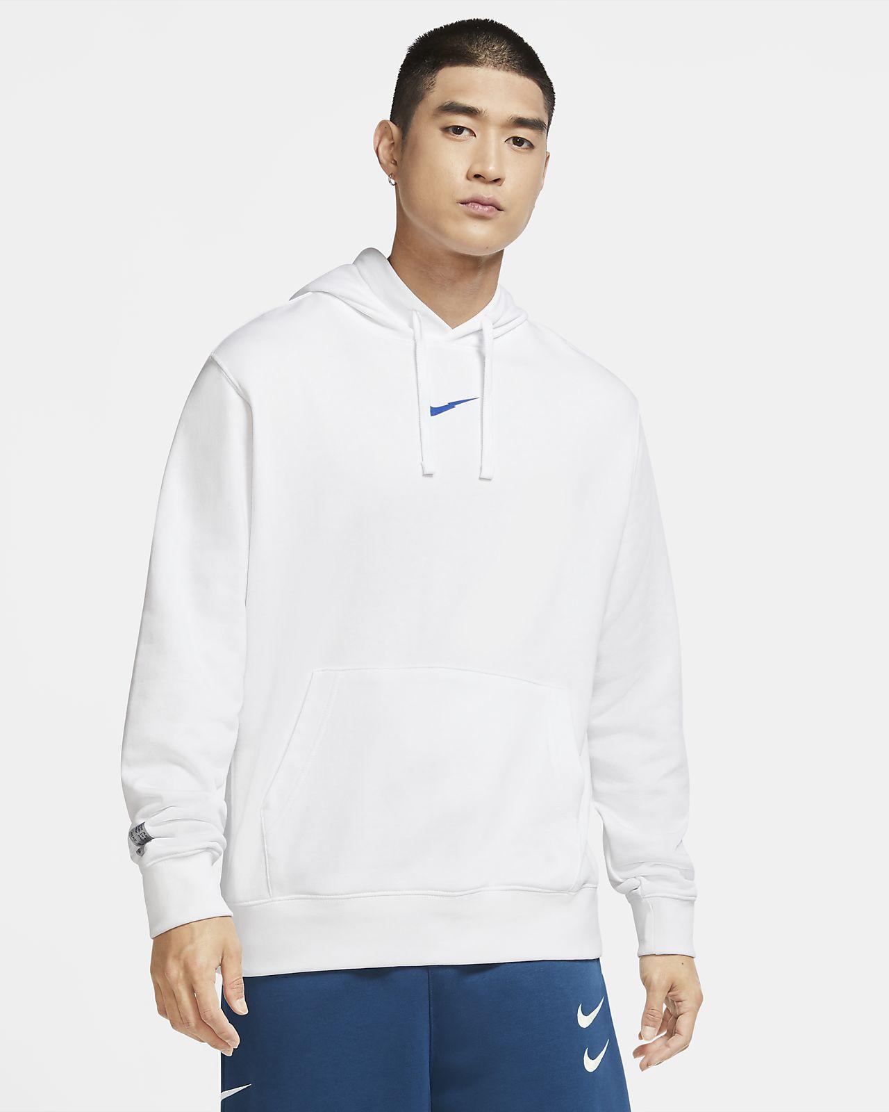 Pánská mikina z francouzského froté Nike Sportswear s kapucí