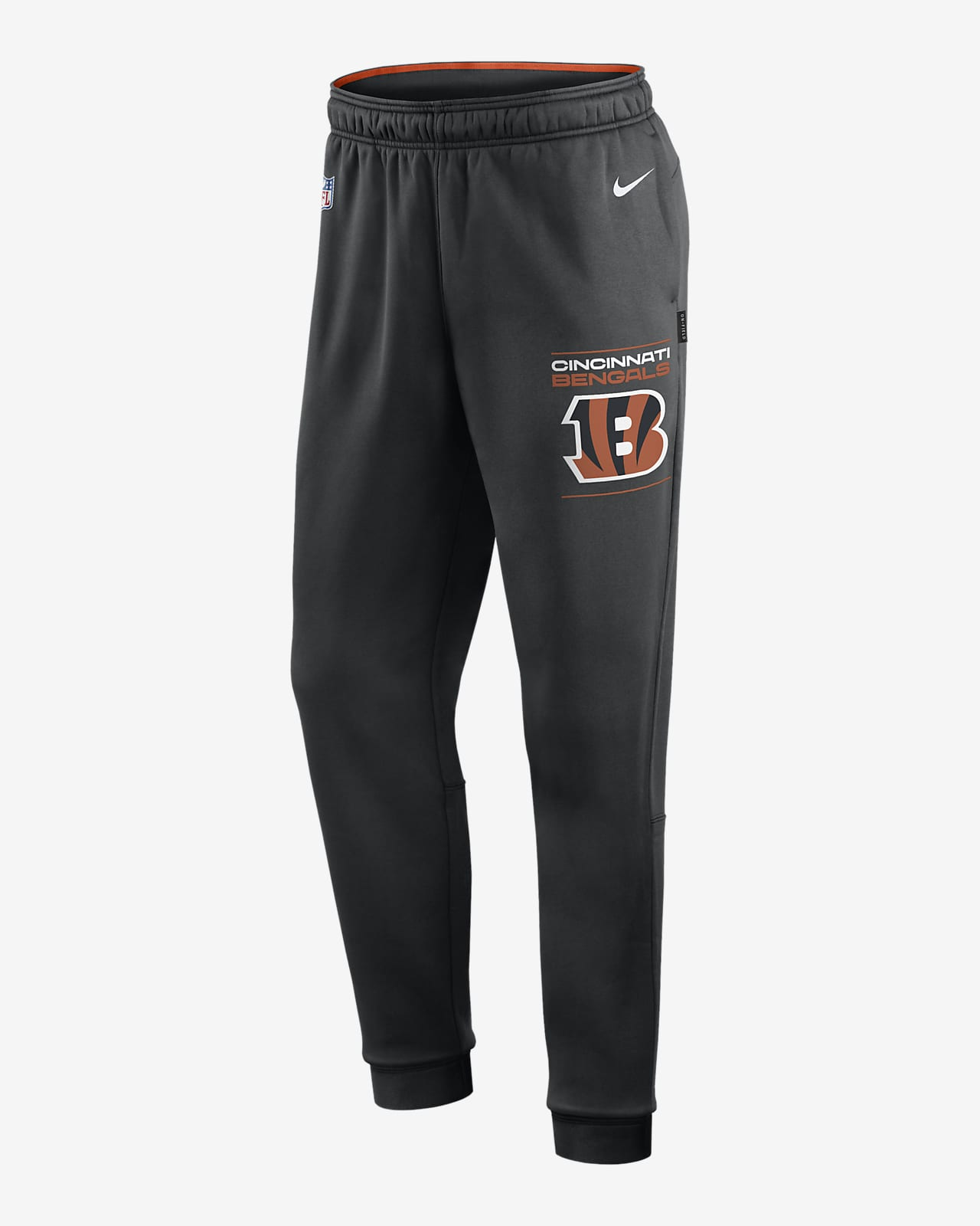Pants para hombre Nike Therma Sideline (NFL Cincinnati Bengals)