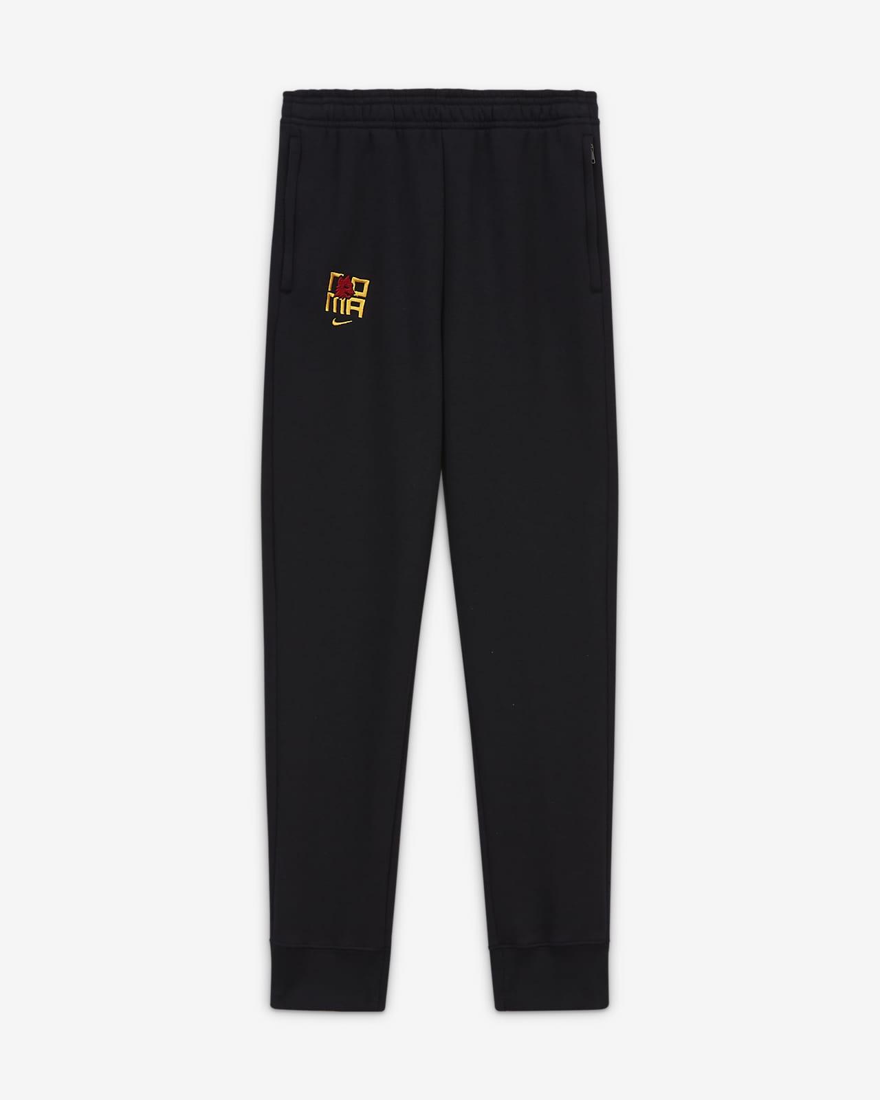Pantaloni da calcio in fleece AS Roma - Ragazzi