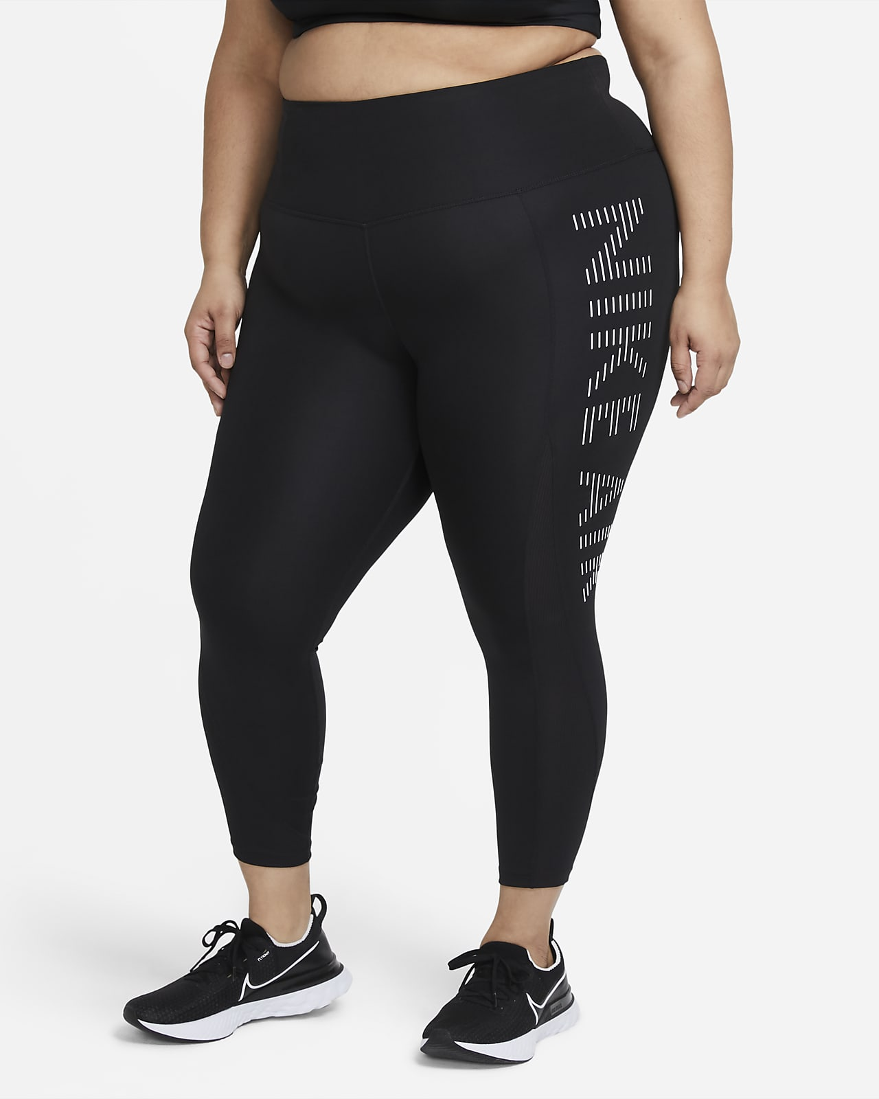 Nike Air Epic Fast Women's 7/8-Length Running Leggings (Plus Size)