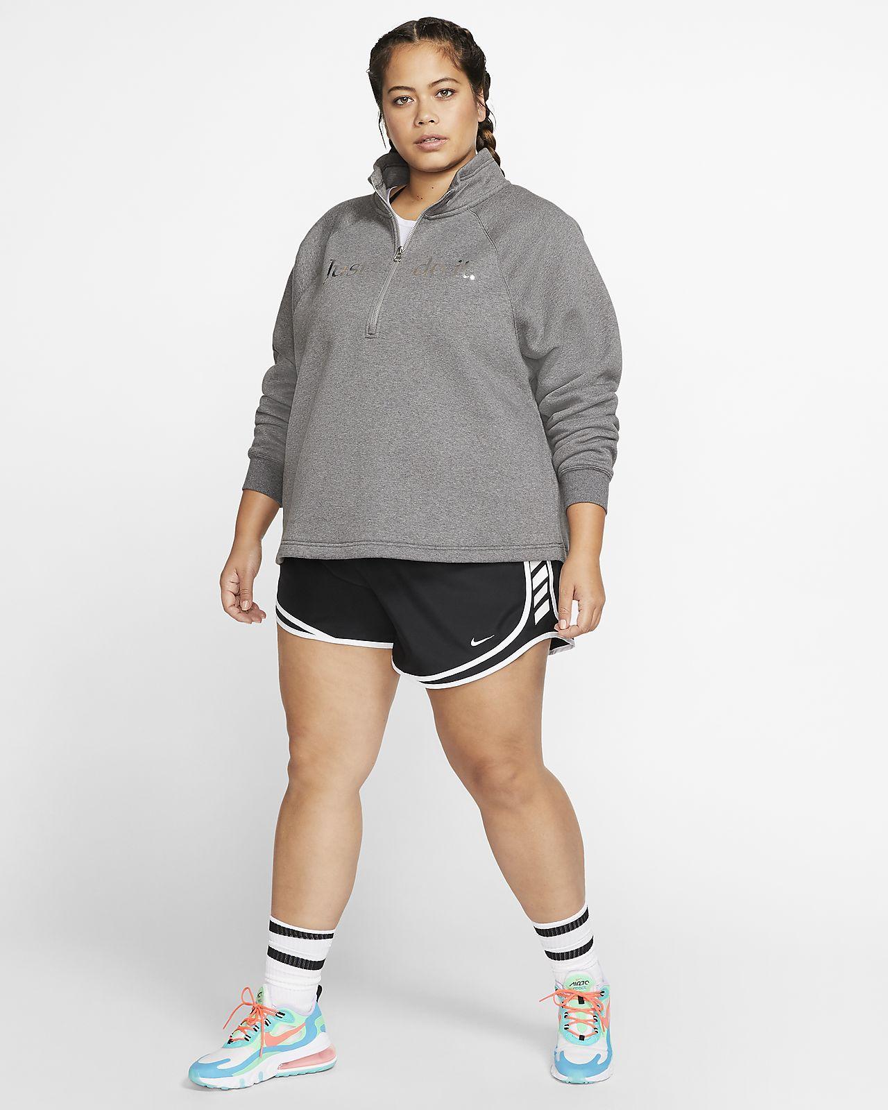 nike fleece 1/4 zip womens