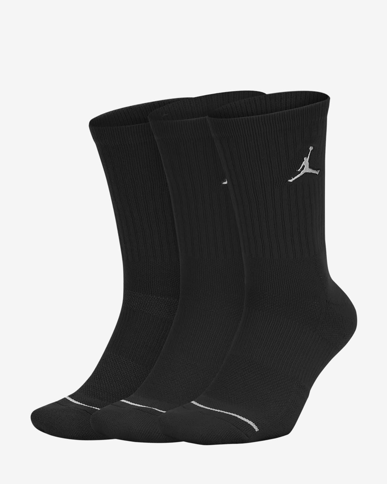 Unisex κάλτσες μεσαίου ύψους Jordan Everyday Max (τρία ζευγάρια)