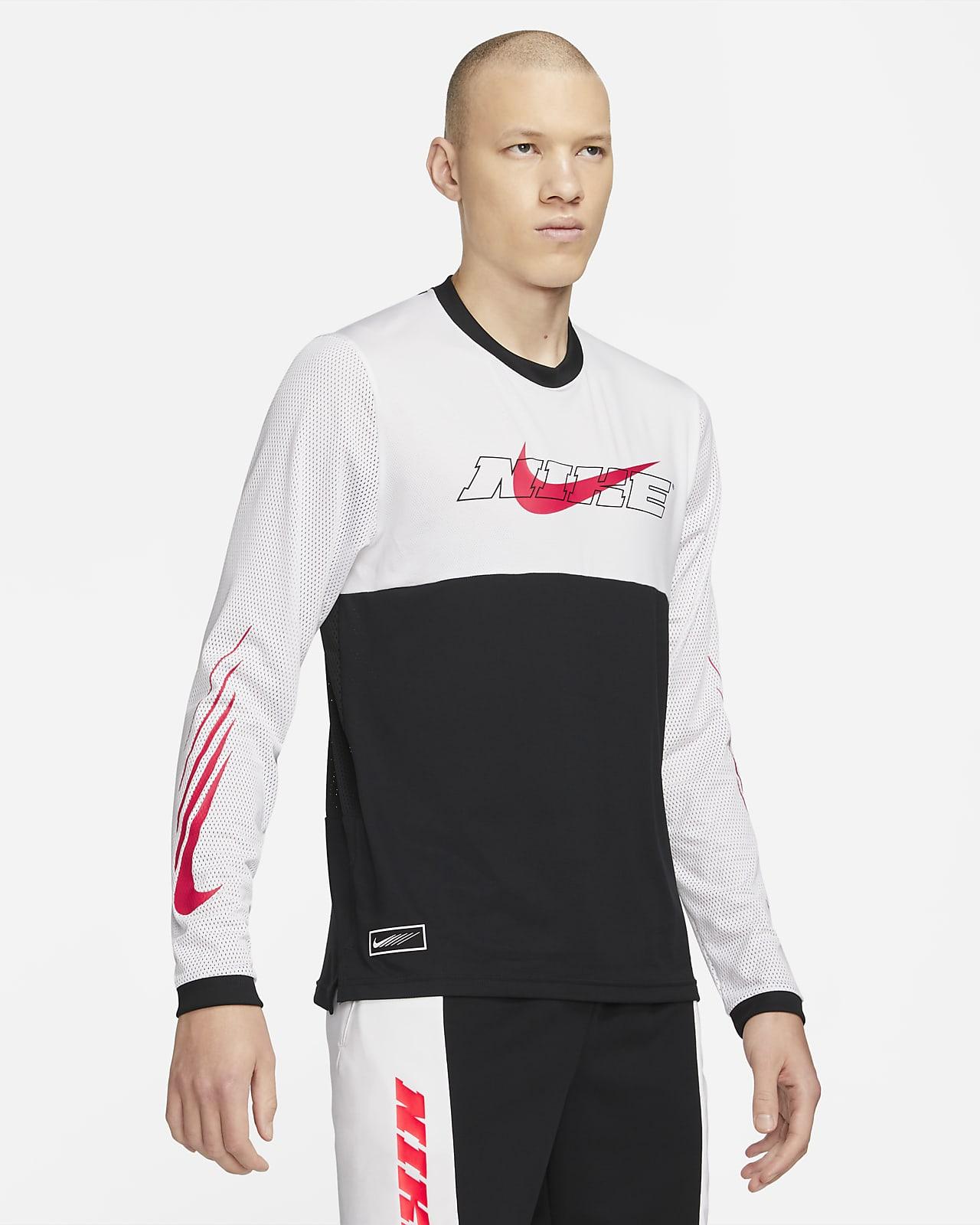 Nike Sport Clash Langarm-Trainingsoberteil für Herren