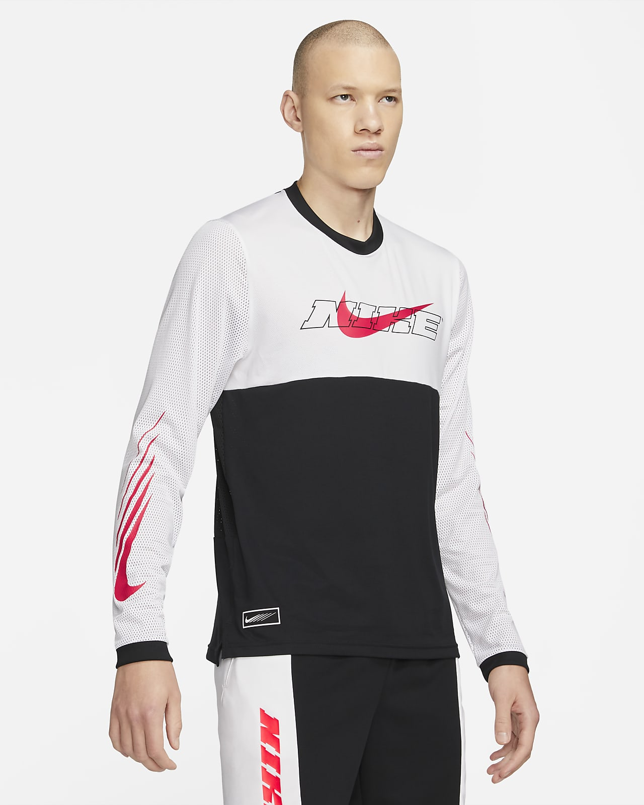 Nike Sport Clash Men's Long-Sleeve Training Top
