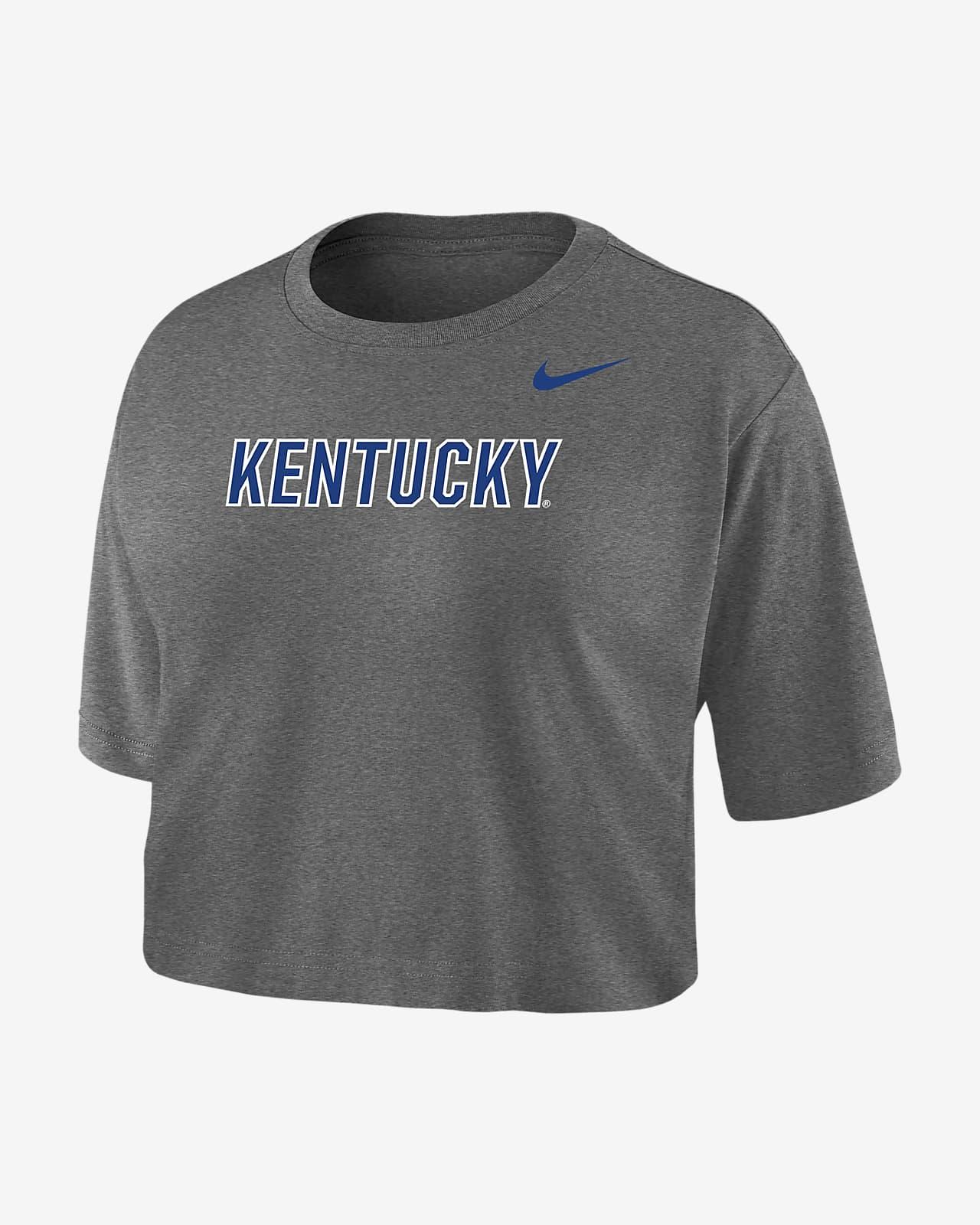 Nike College Dri-FIT (Kentucky) Women's Crop T-Shirt