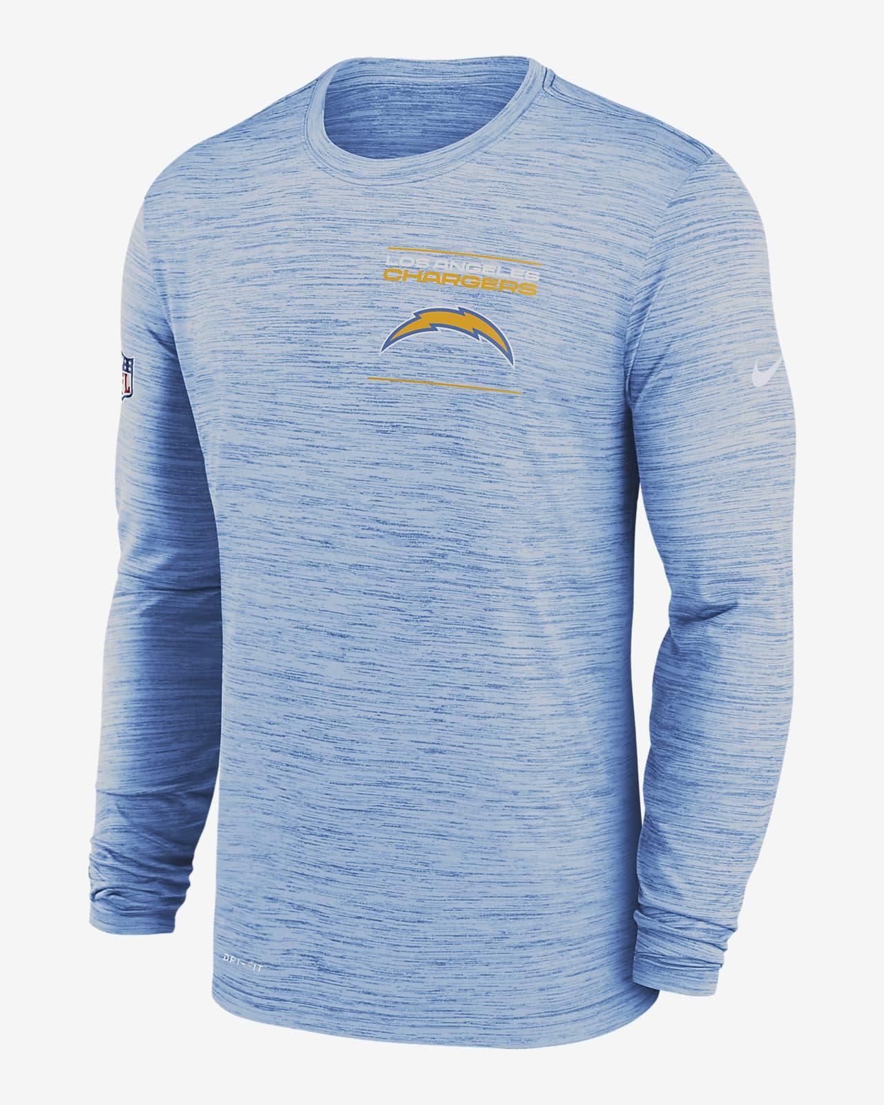 Nike Dri-FIT Sideline Velocity Legend (NFL Los Angeles Chargers) Men's Long-Sleeve T-Shirt