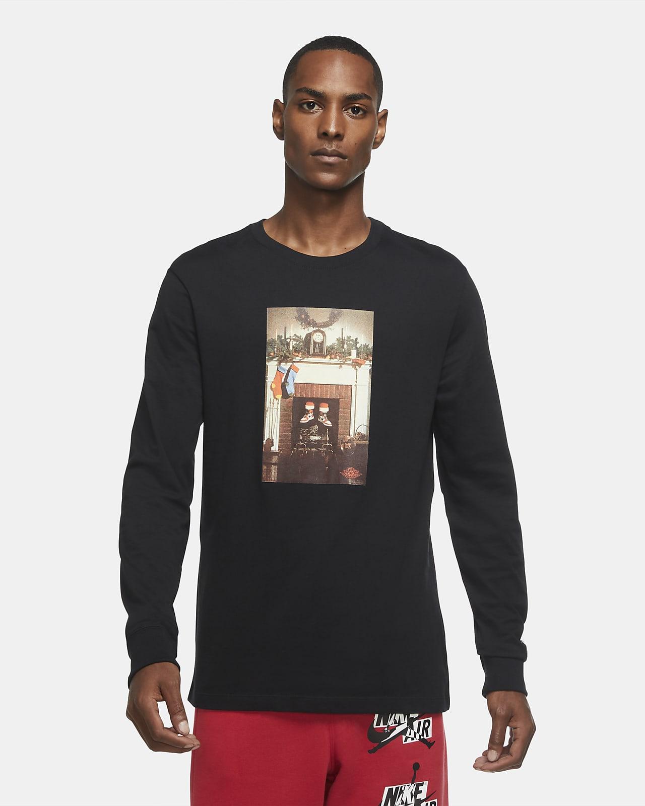 Jordan Jumpman Chimney Men's Long-Sleeve T-Shirt