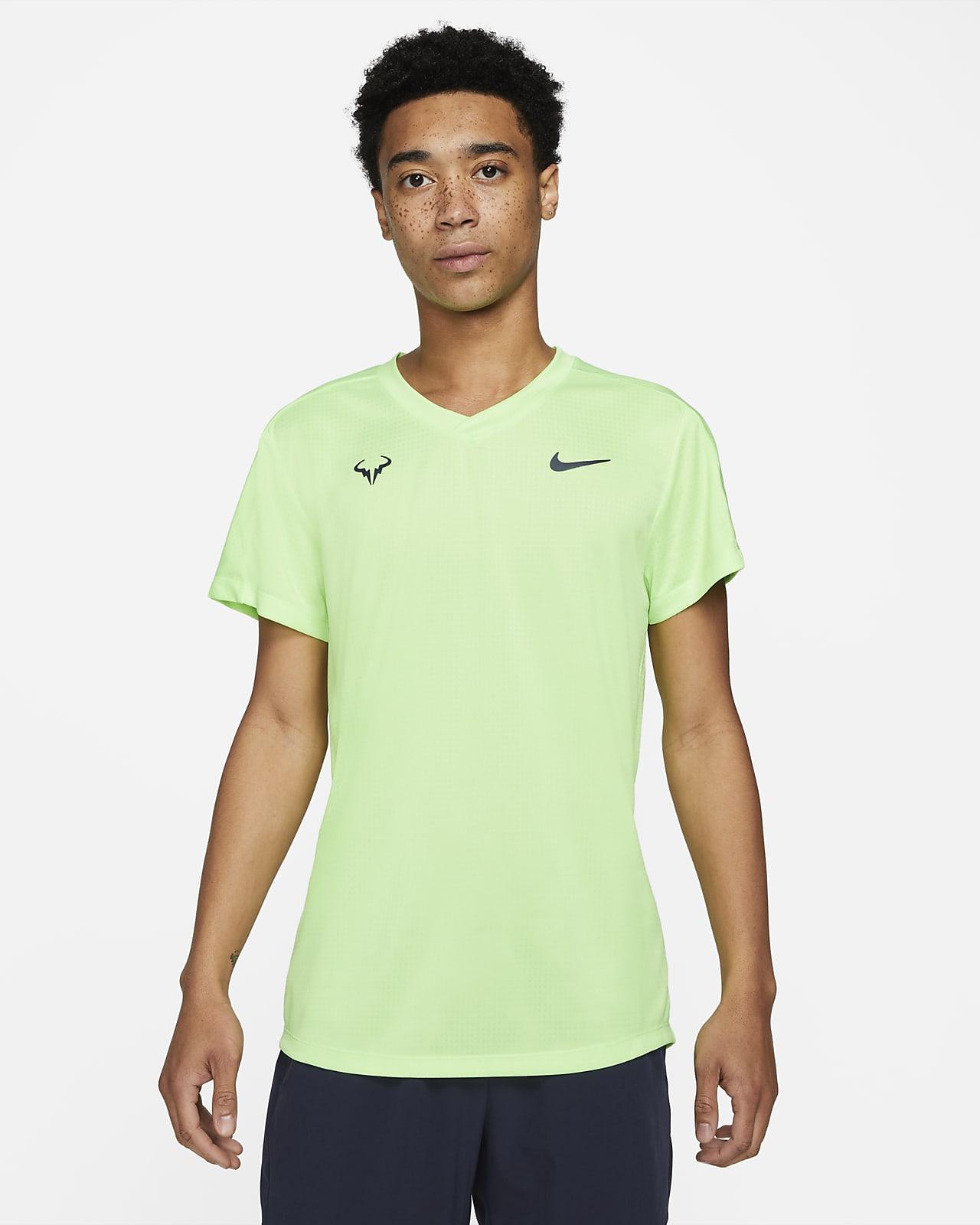 Haut de tennis à manches courtes Rafa Challenger pour Homme