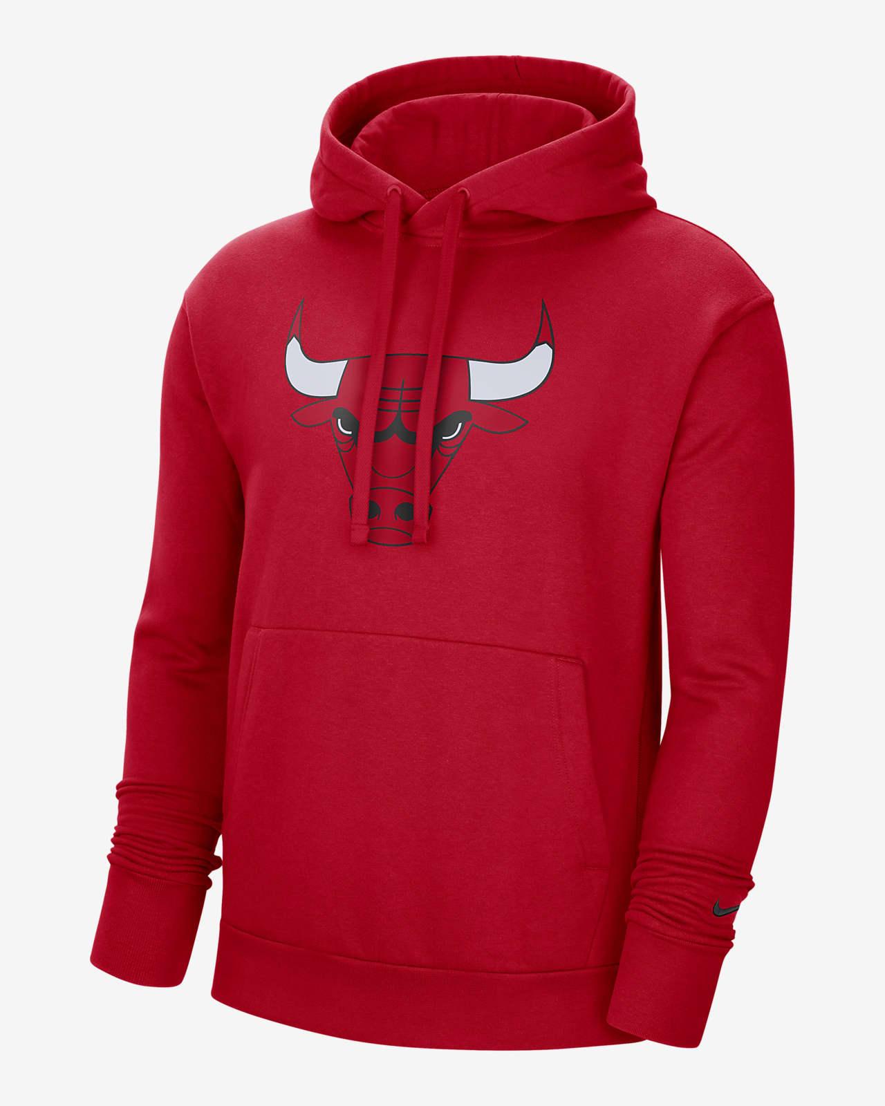 Ανδρική μπλούζα με κουκούλα Nike NBA Σικάγο Μπουλς Essential