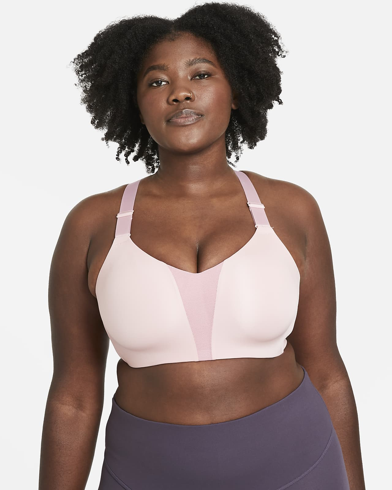 Nike Dri-FIT Rival Women's High-Support Sports Bra (Plus Size)