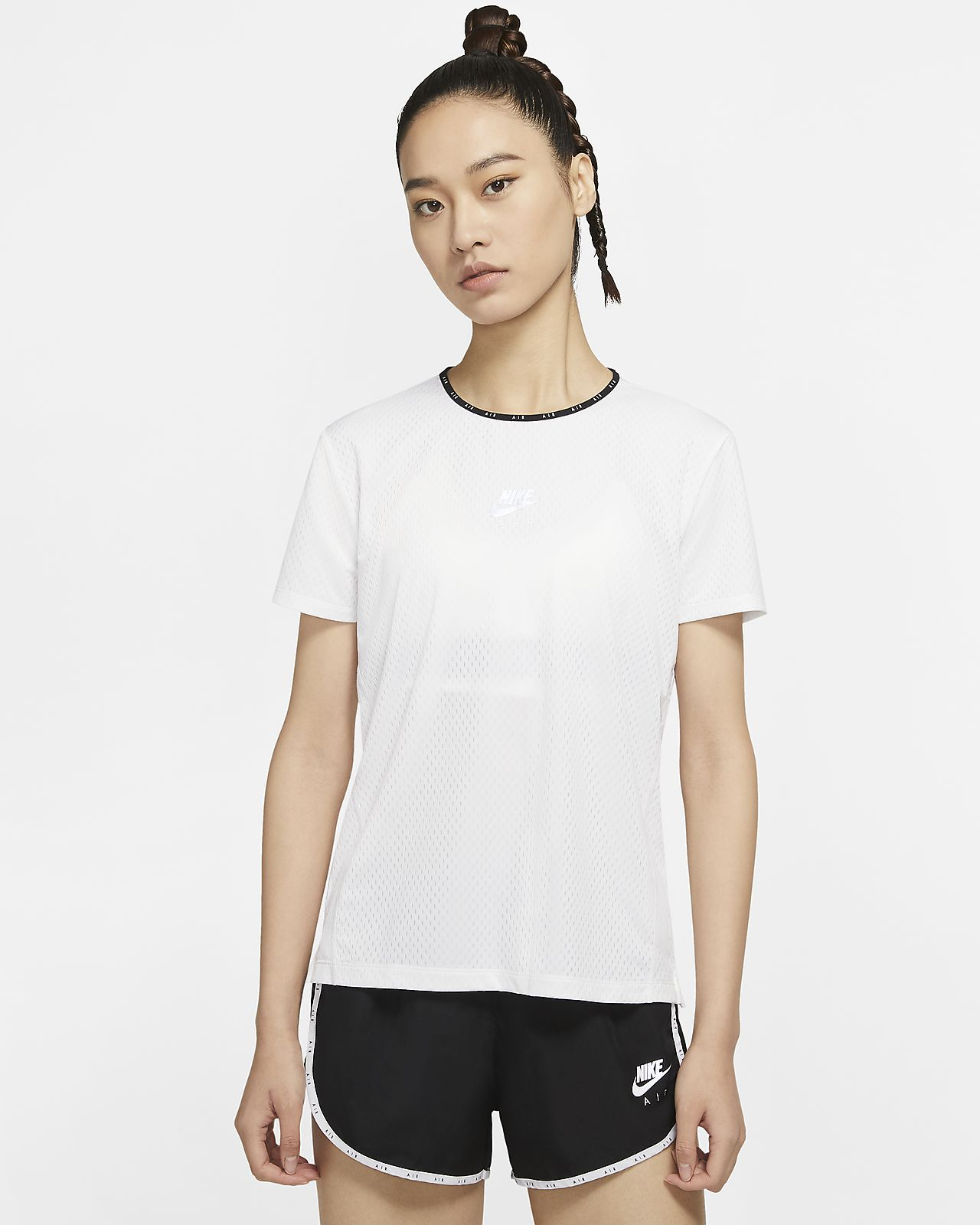 Nike Air 女子短袖跑步上衣