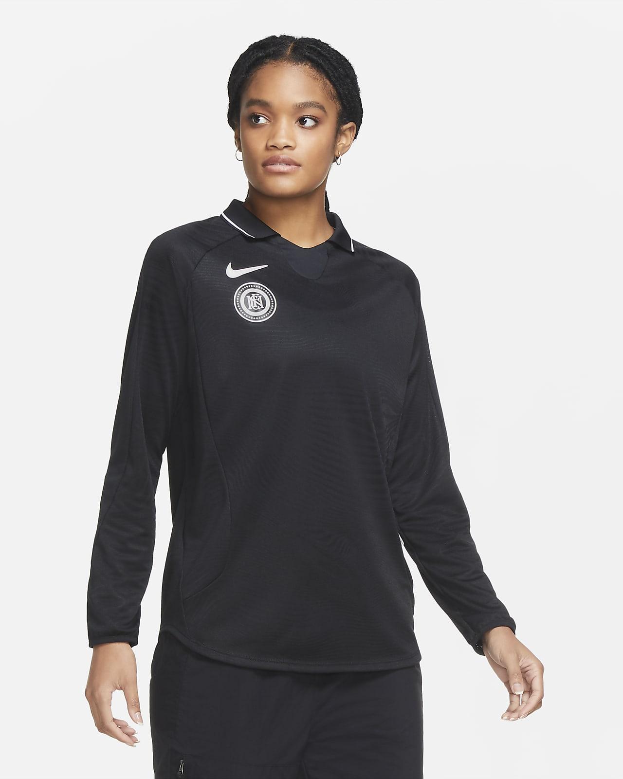 Nike F.C. Voetbalshirt met lange mouwen voor dames