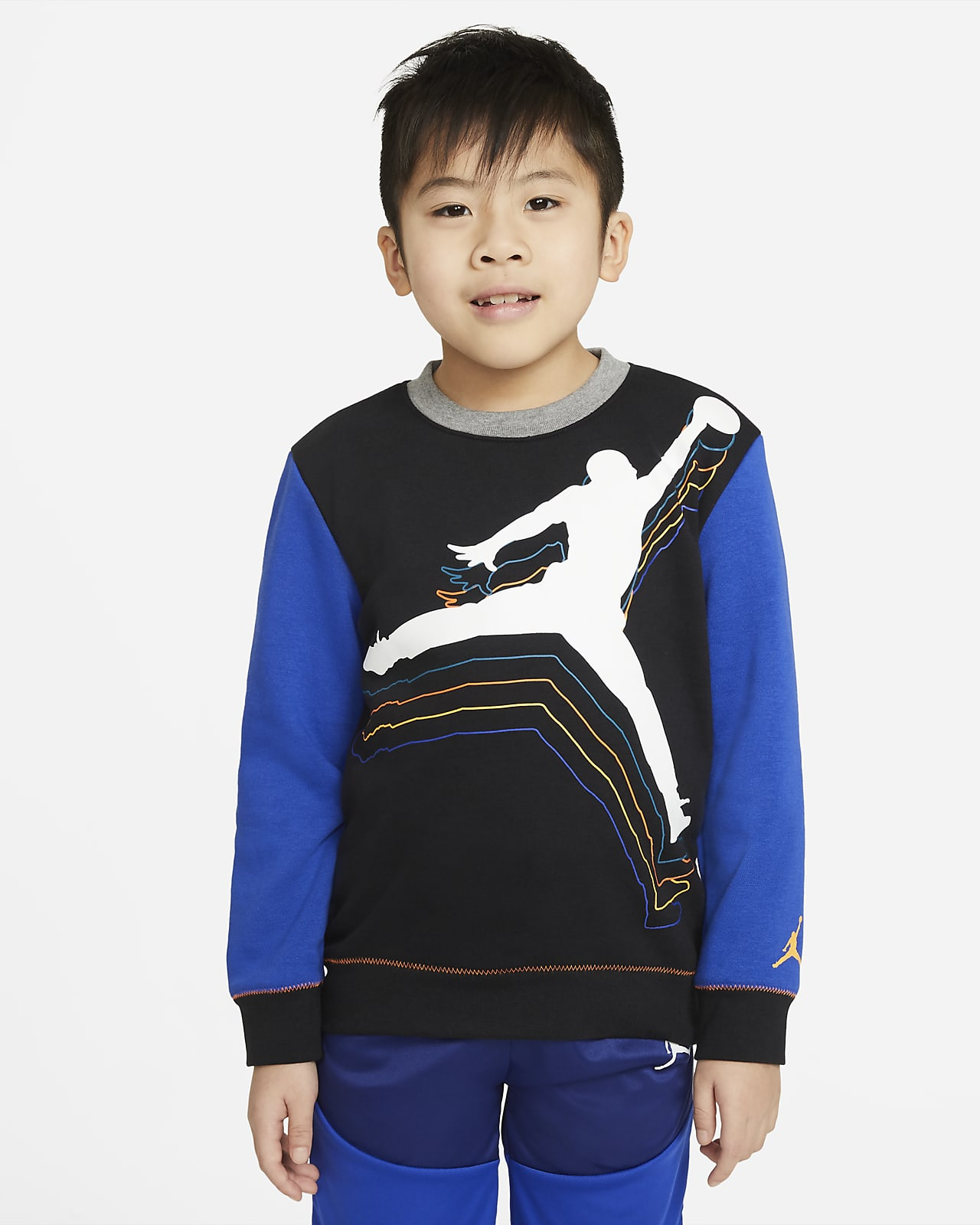 Jordan T-shirt met ronde hals voor kleuters
