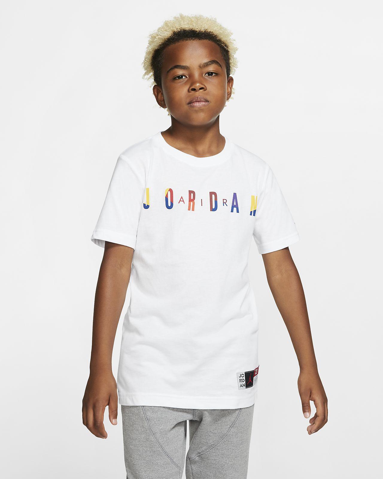 Air Jordan 大童(男孩)短袖T恤