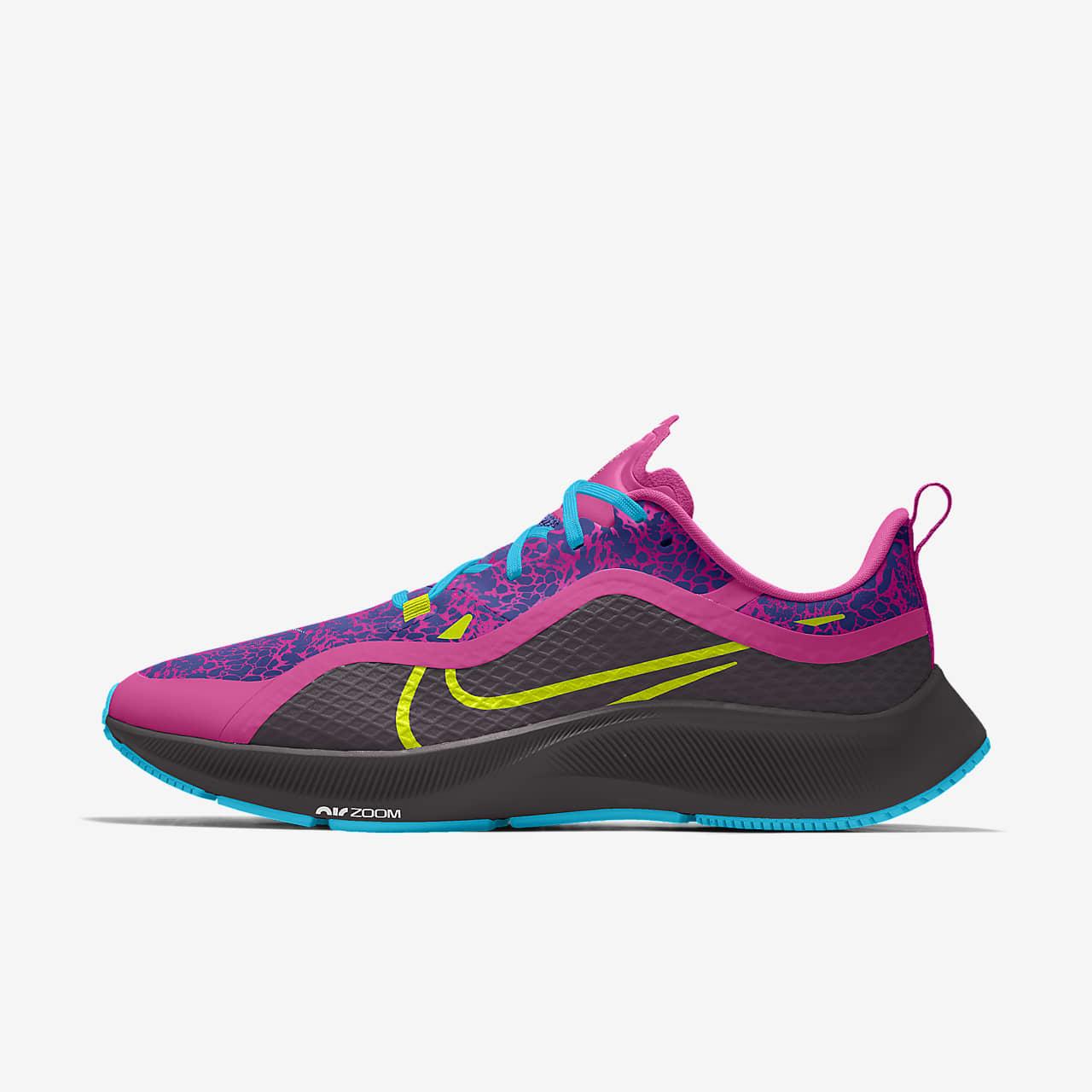 Nike Air Zoom Pegasus 37 Shield By You Custom Running Shoe