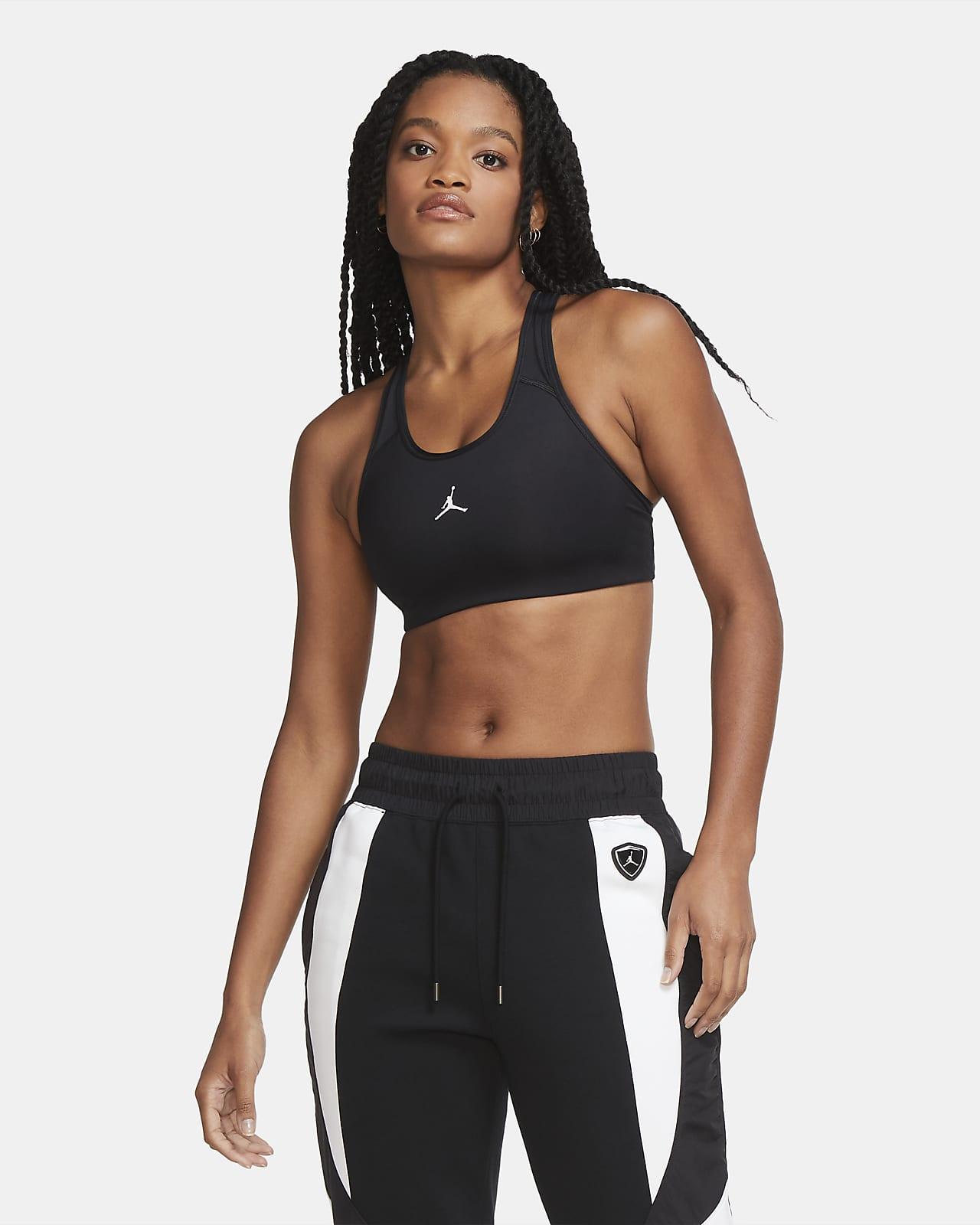Nike Jordan Jumpman sports-BH med innlegg og middels støtte til dame
