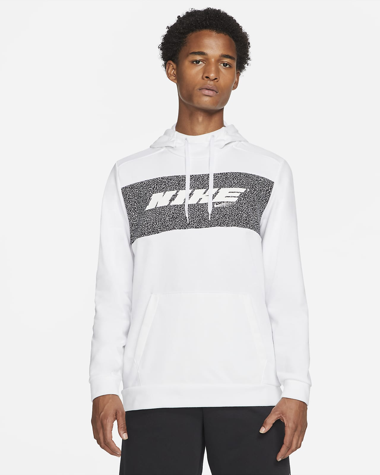 Hoodie pullover de treino Nike Dri-FIT Sport Clash para homem