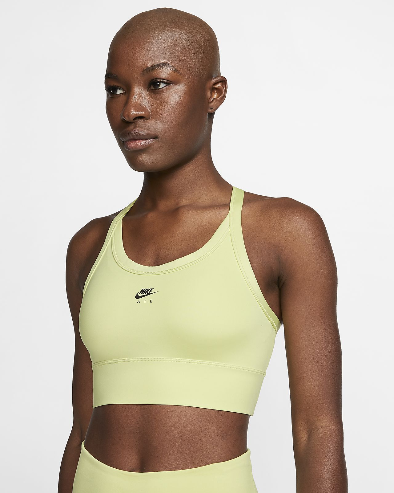 Nike Air Swoosh Sport-BH mit mittlerem Halt und einteiligem Polster für Damen