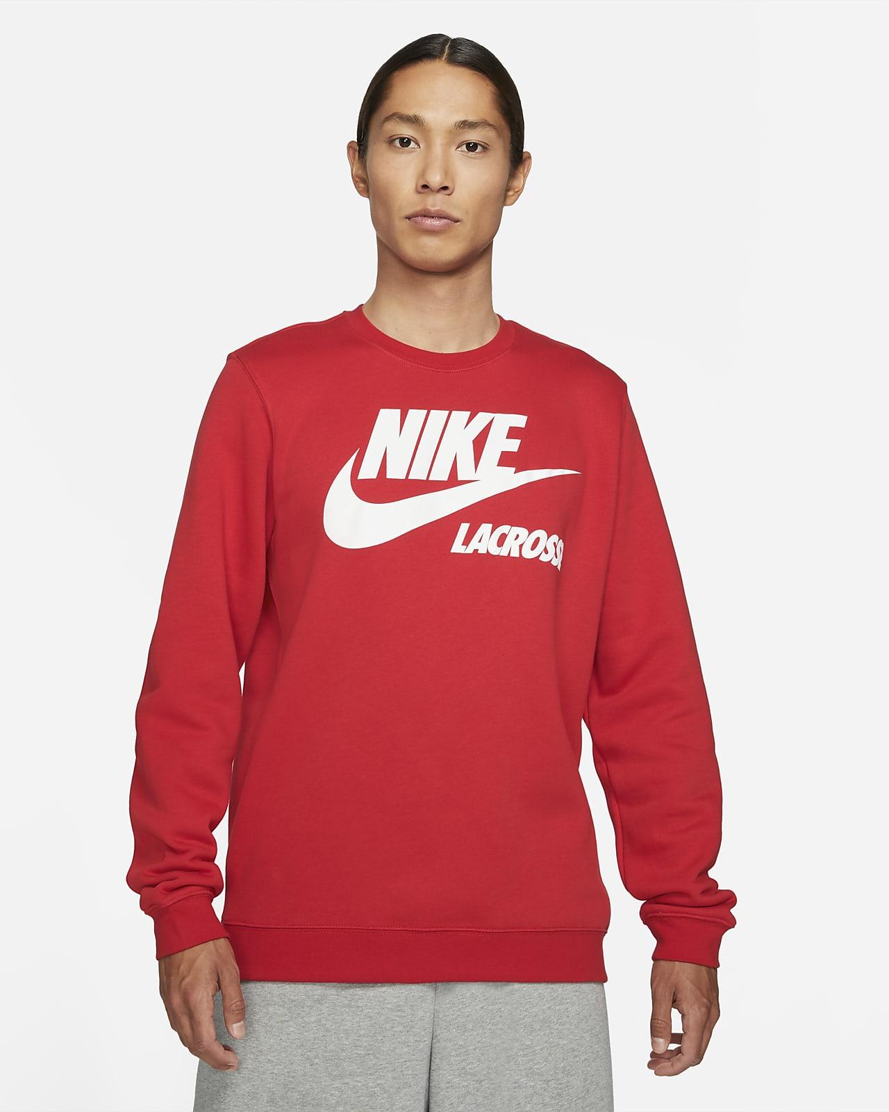 Nike Club Fleece Men's Lacrosse Crew