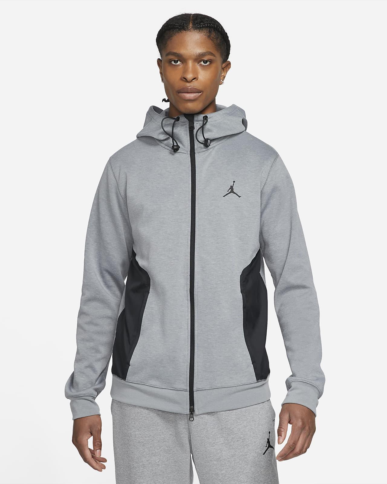 Sweat à capuche en tissu Fleece à zip Statement Jordan Dri-FIT Air pour Homme