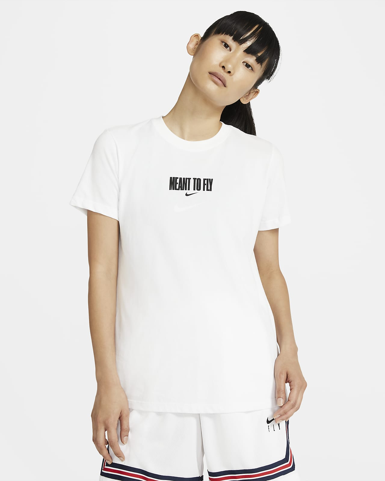 "Nike Dri-FIT ""Meant to Fly"" basket-T-skjorte til dame"
