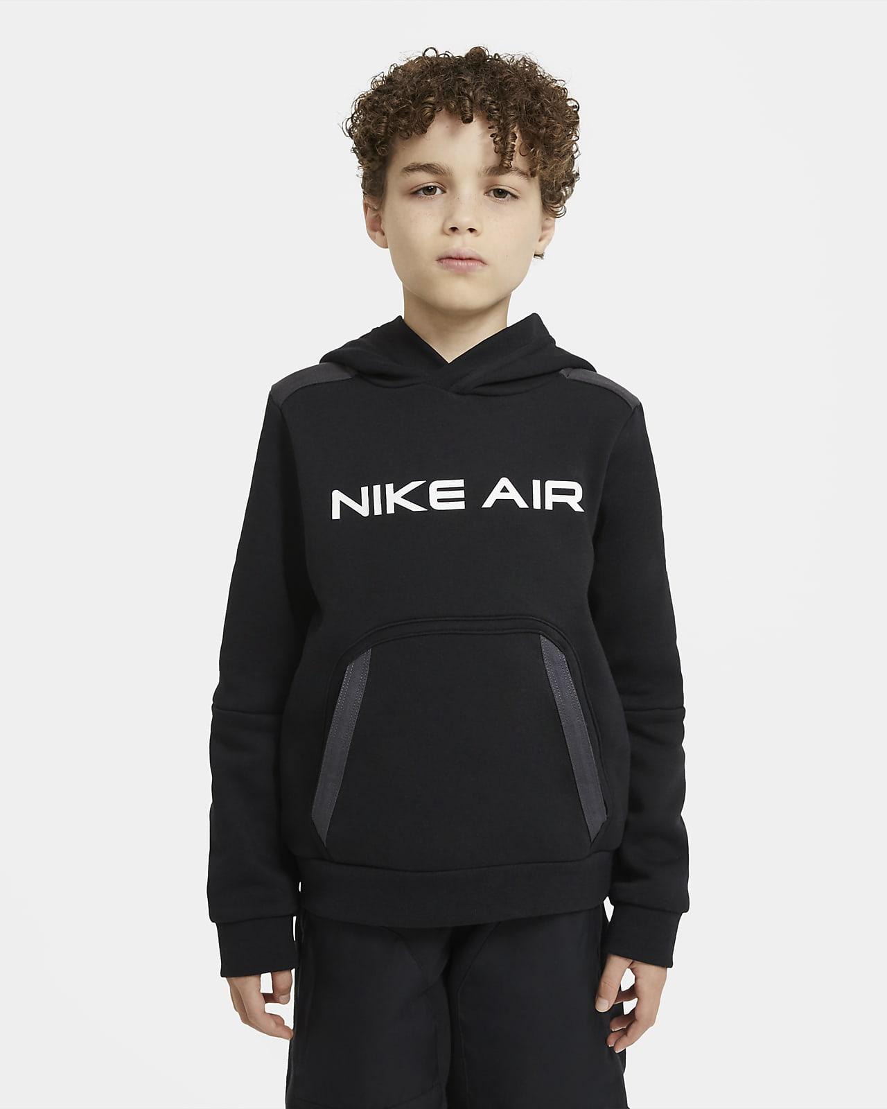 Sweat à capuche en tissu Fleece Nike Air pour Garçon plus âgé