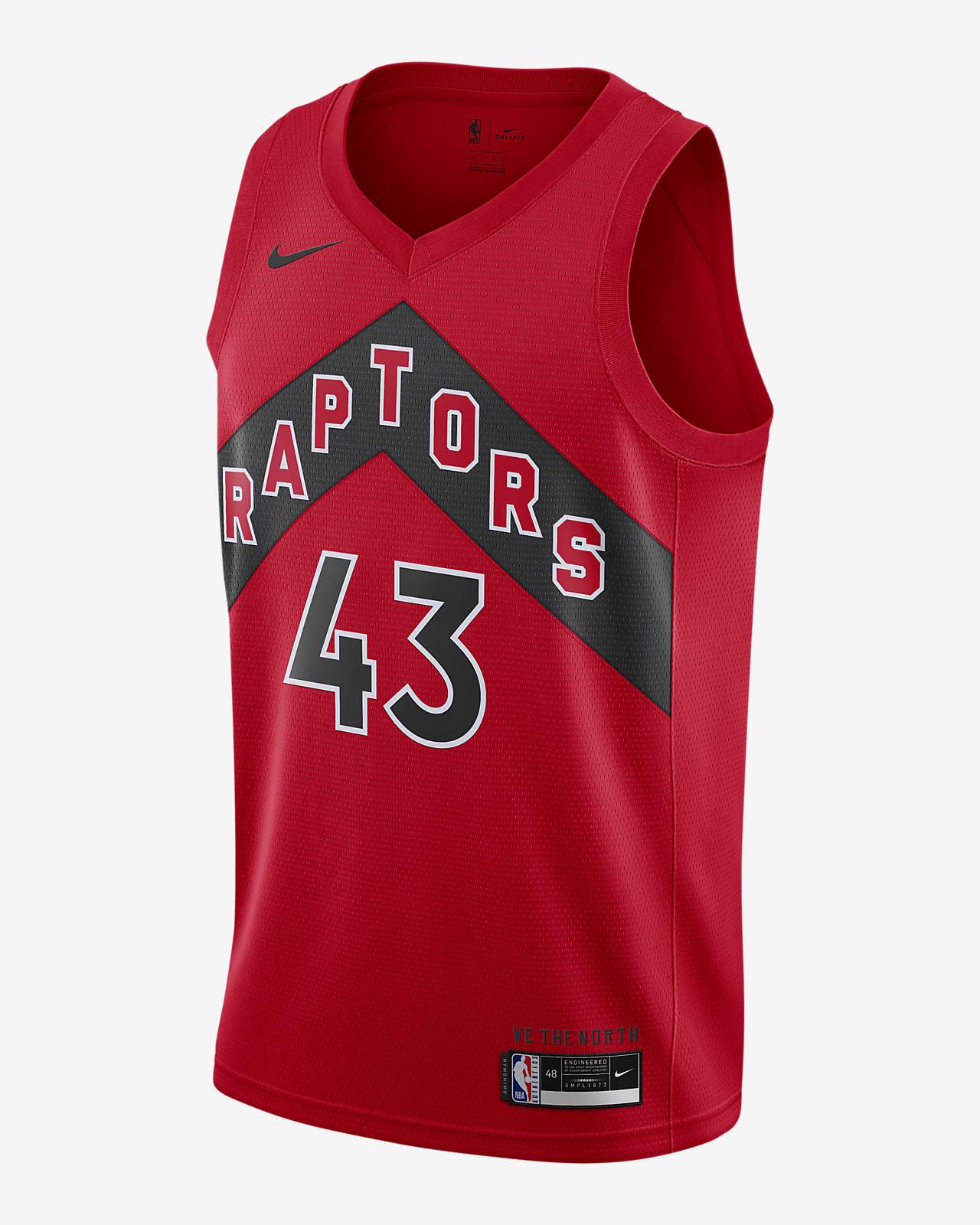 Raptors Icon Edition 2020 Nike NBA Swingman Jersey