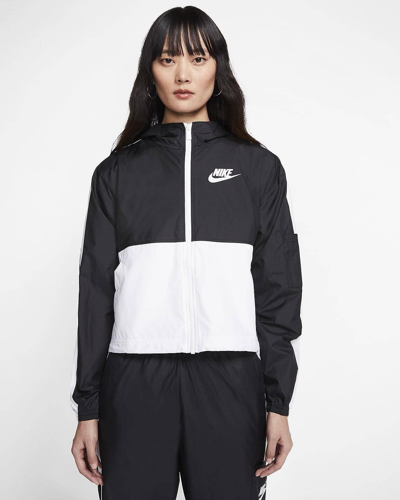 เสื้อแจ็คเก็ตแบบทอผู้หญิง Nike Sportswear