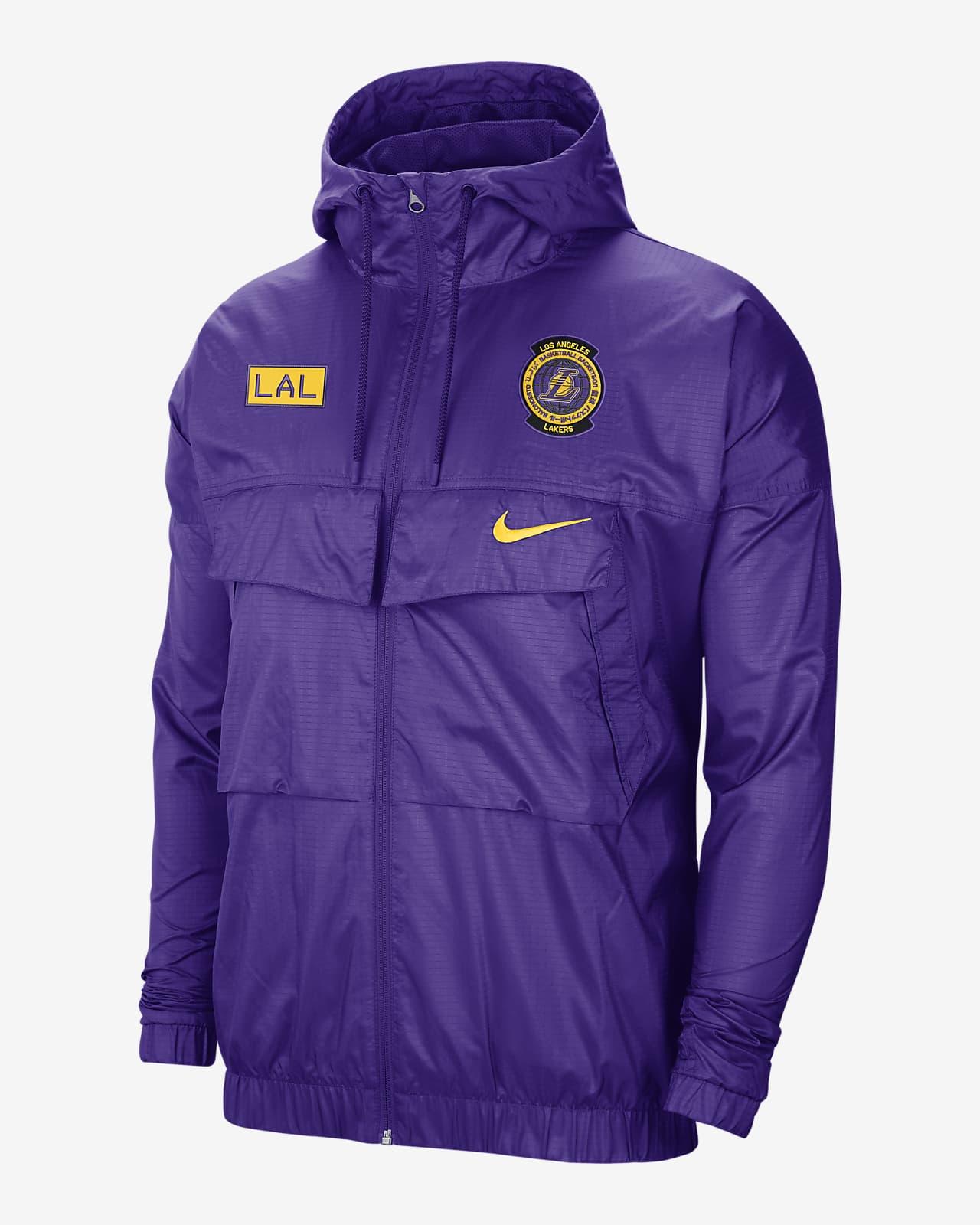 Lakers Courtside Men's Nike NBA Lightweight Jacket