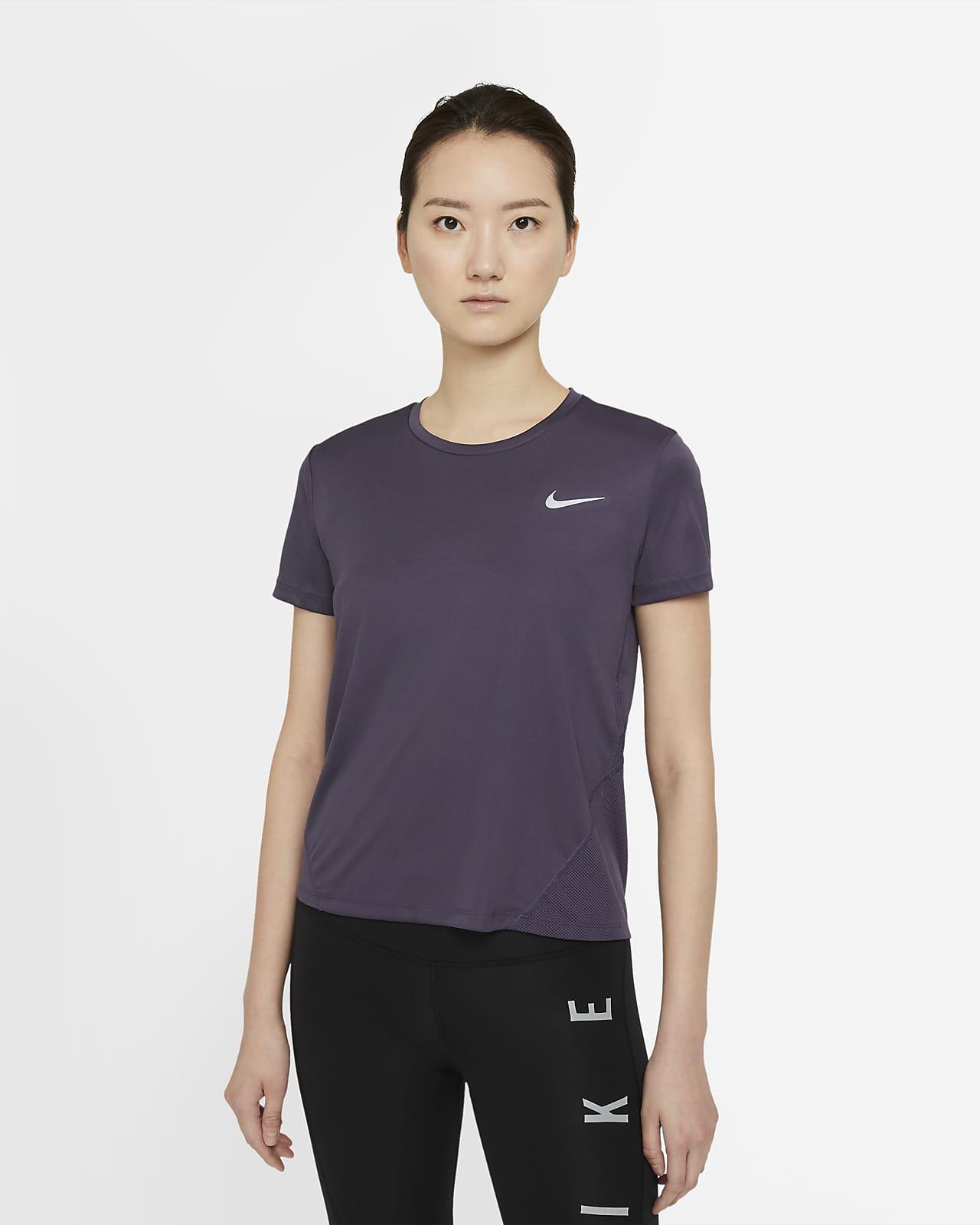 Nike Miler 女款短袖跑步上衣