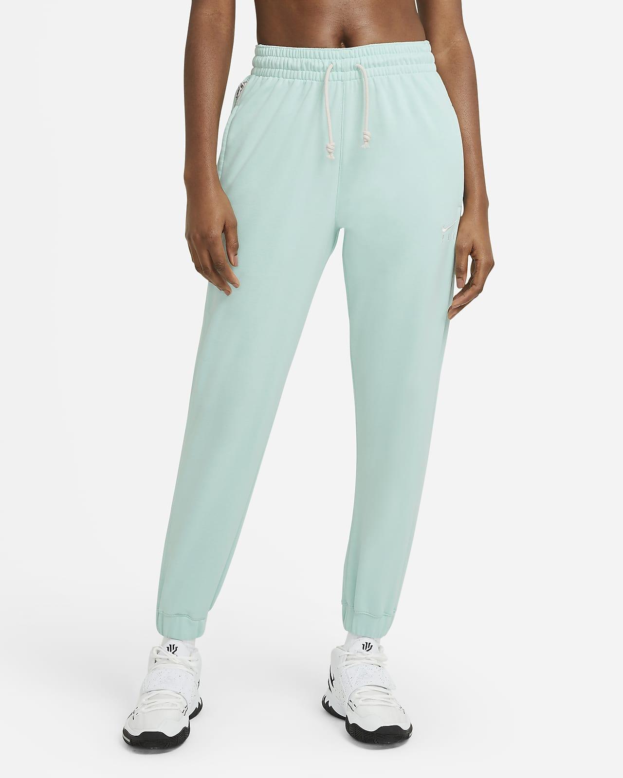 Calças de basquetebol Nike Swoosh Fly Standard Issue para mulher
