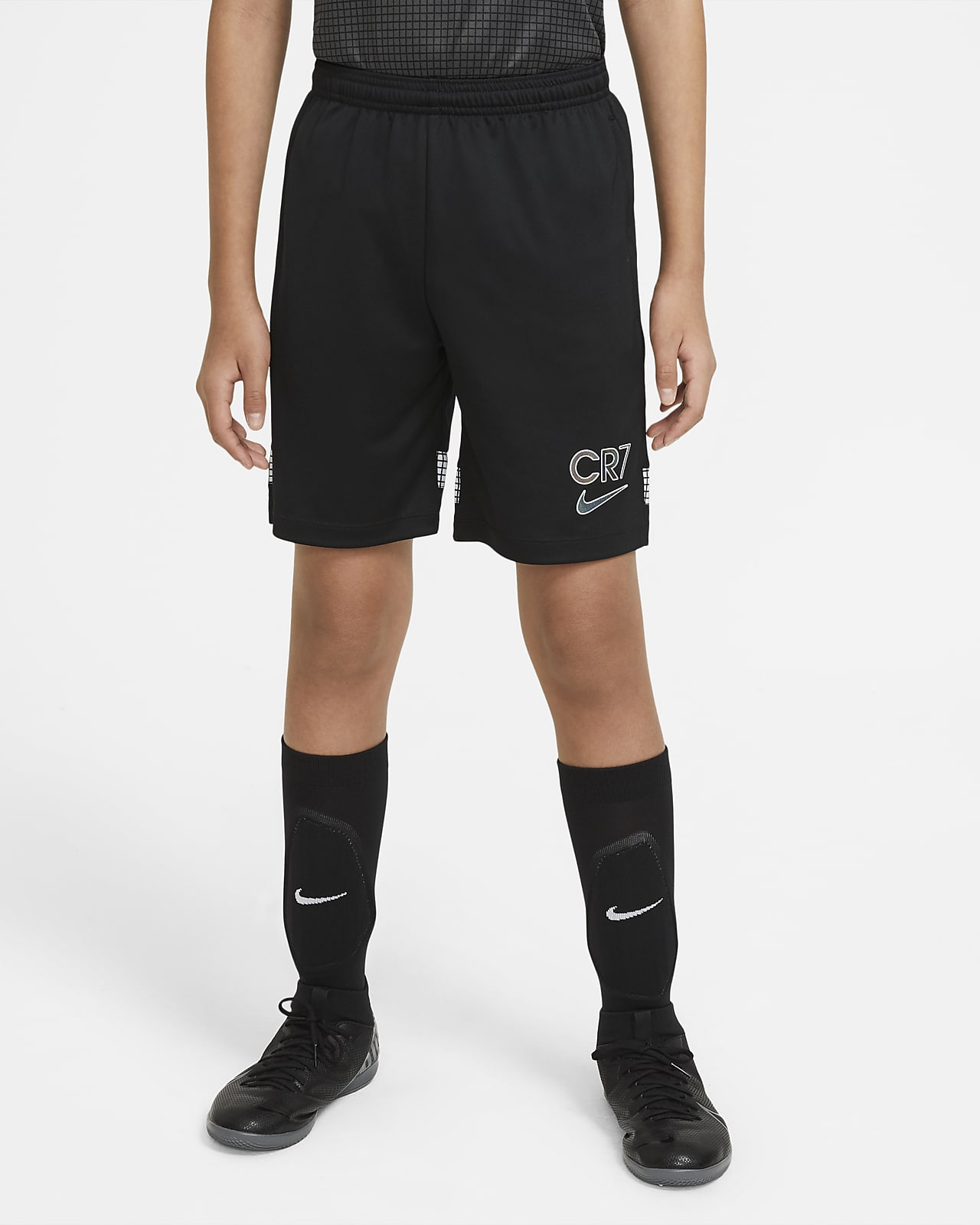 Shorts de fútbol tejidos para niños talla grande Nike Dri-FIT CR7