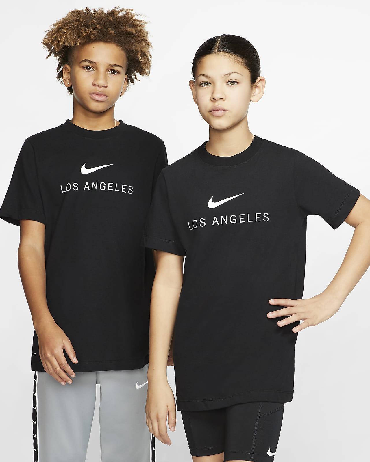 Playera para niños talla grande Nike Dri-FIT Los Angeles
