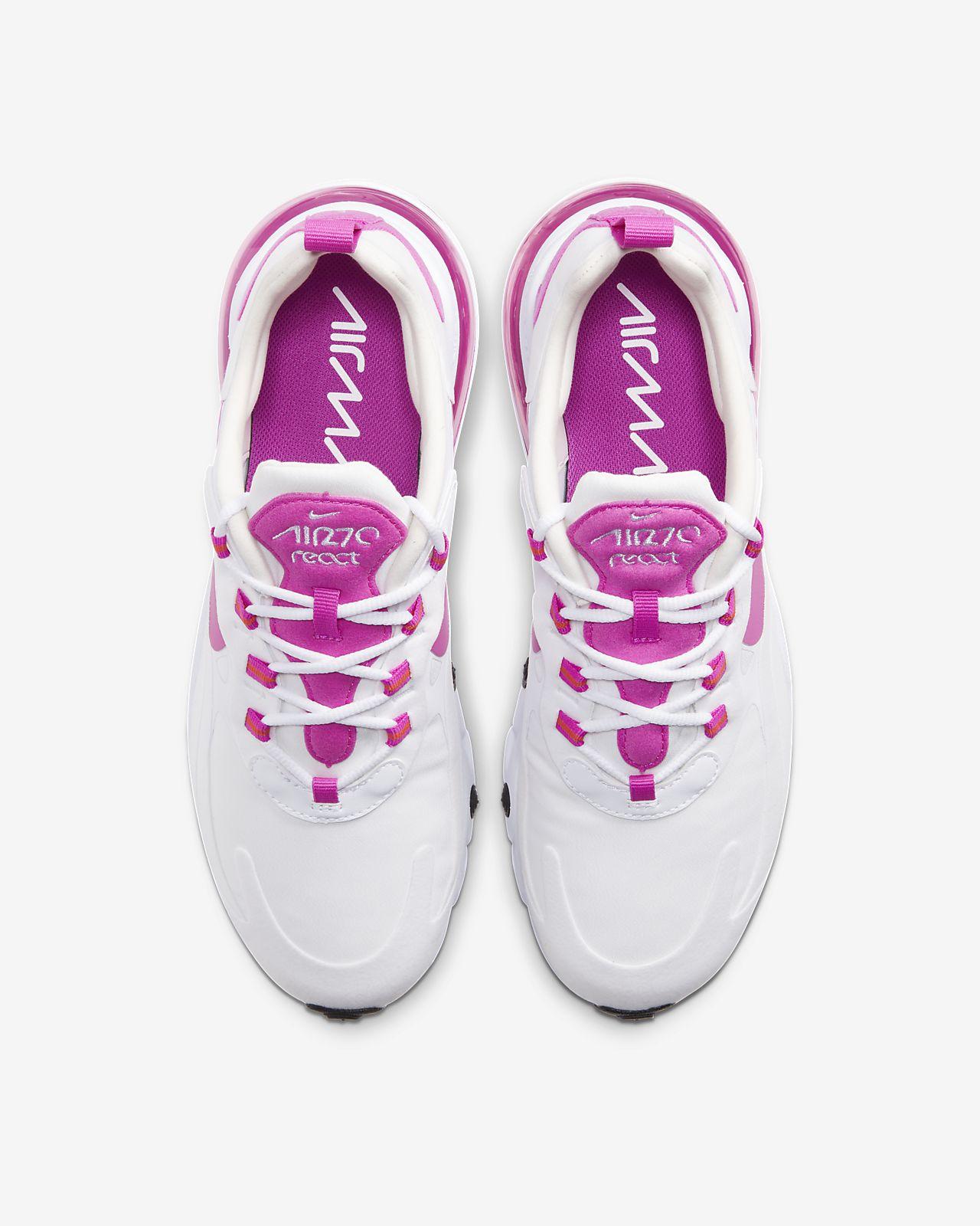 Scarpa Nike Air Max 270 React Donna